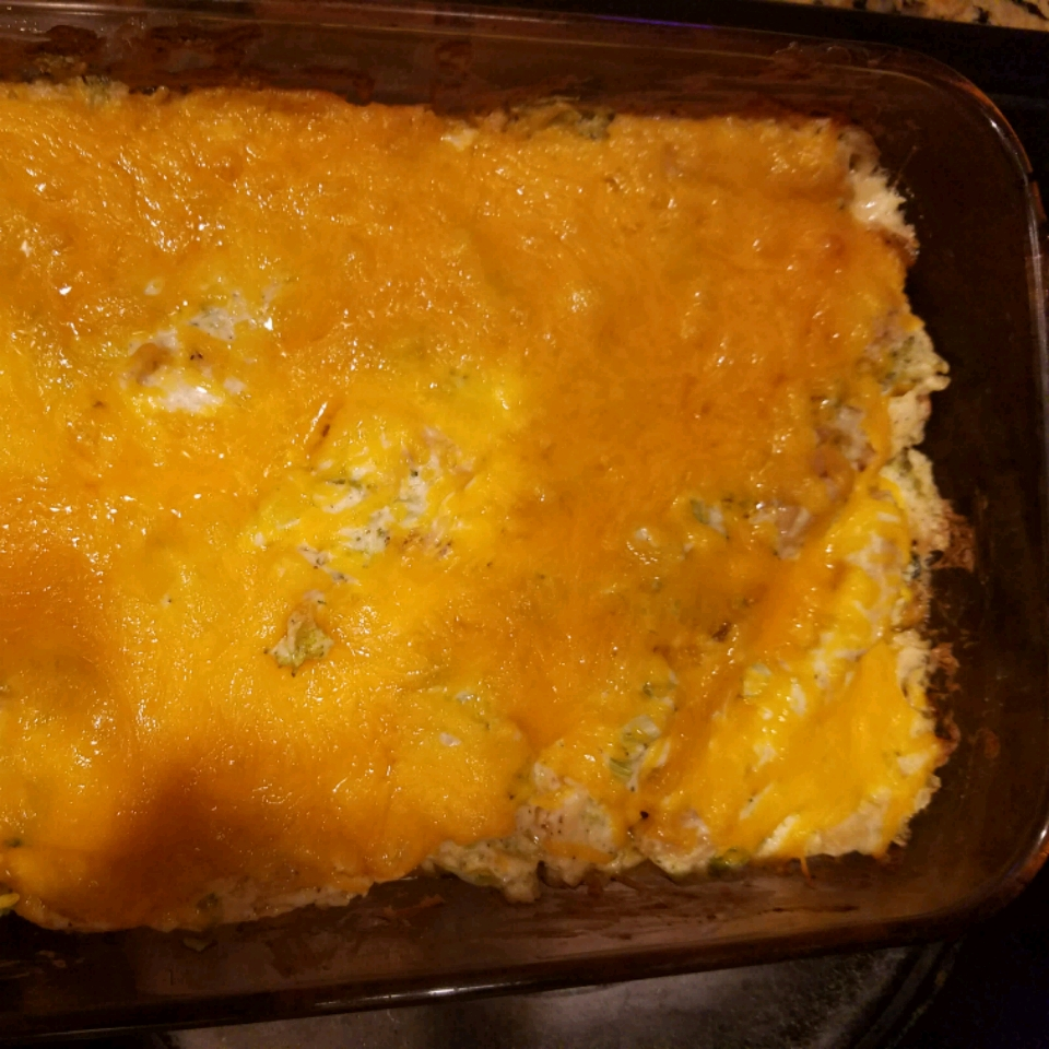 Keto Chicken-Broccoli Casserole