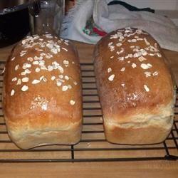 Honey Oatmeal Bread II Molly Elian Carlson