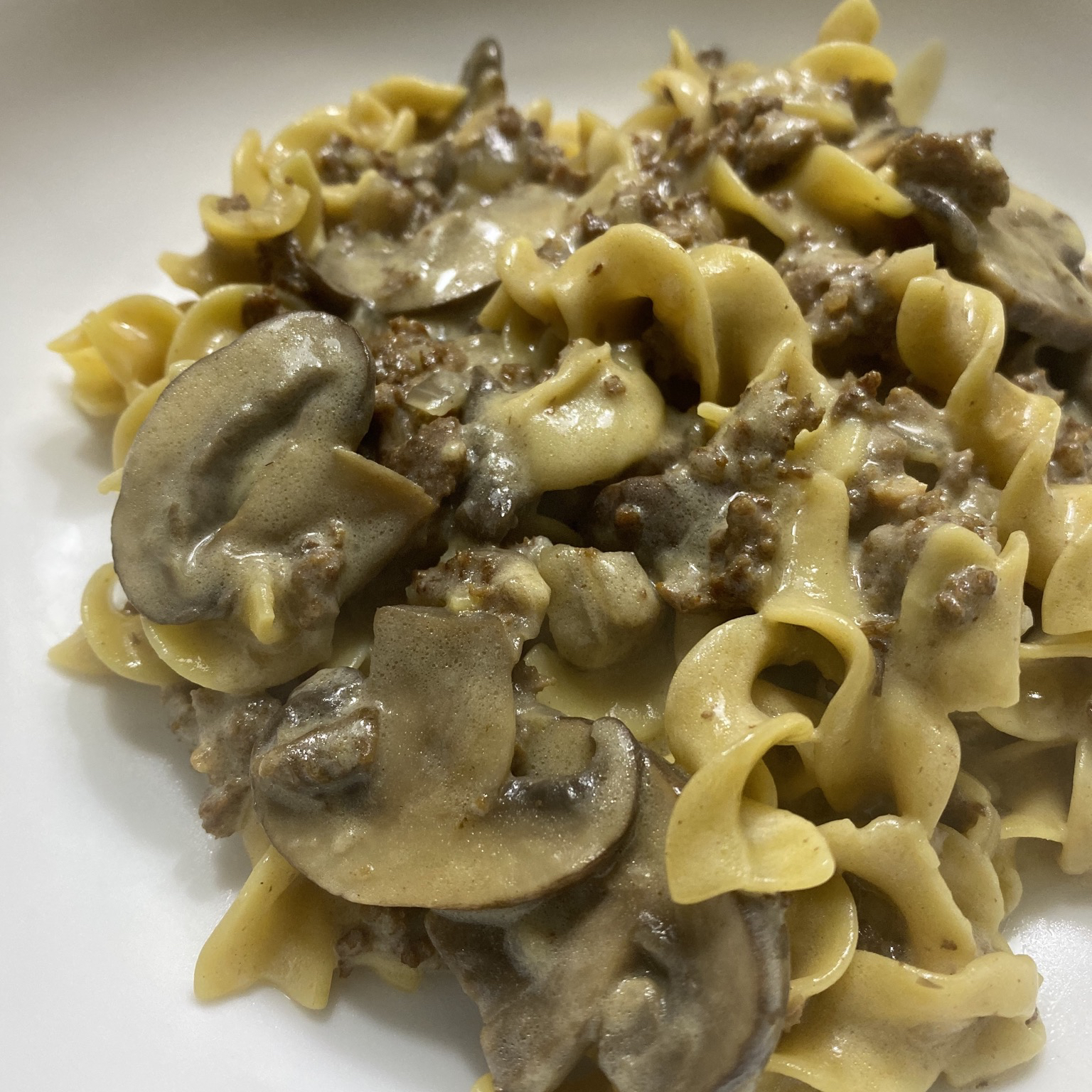Instant Pot® Ground Beef Stroganoff