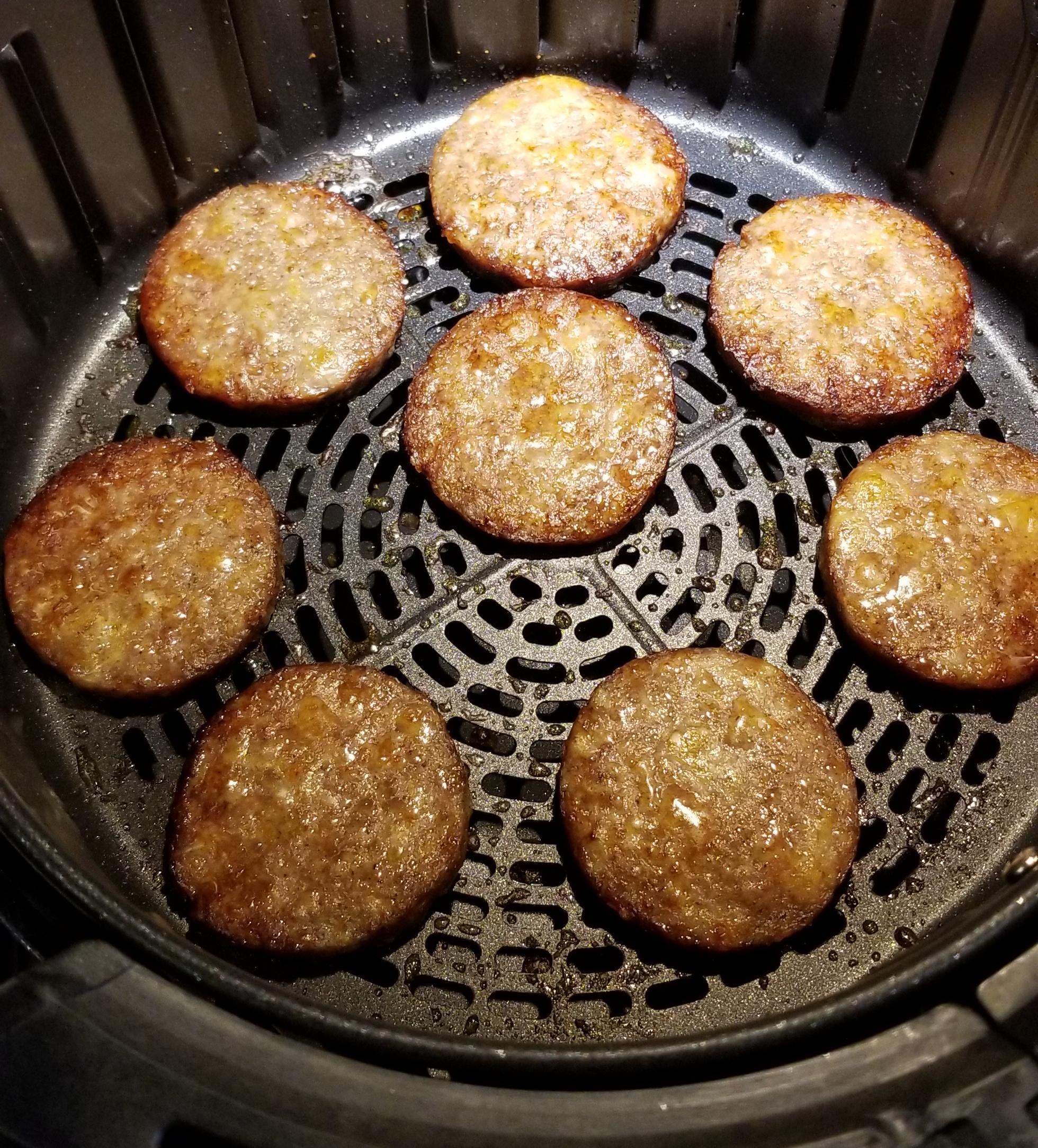 Air Fryer Sausage Patties Carol Moore