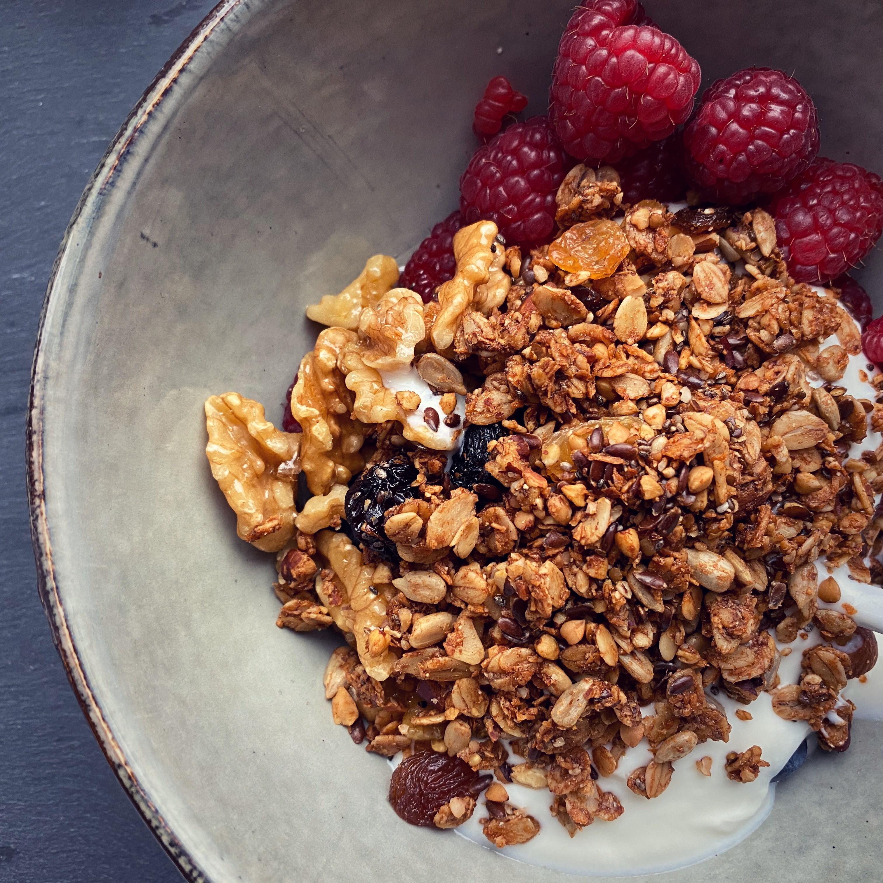 Greek Yogurt Bowls with Granola