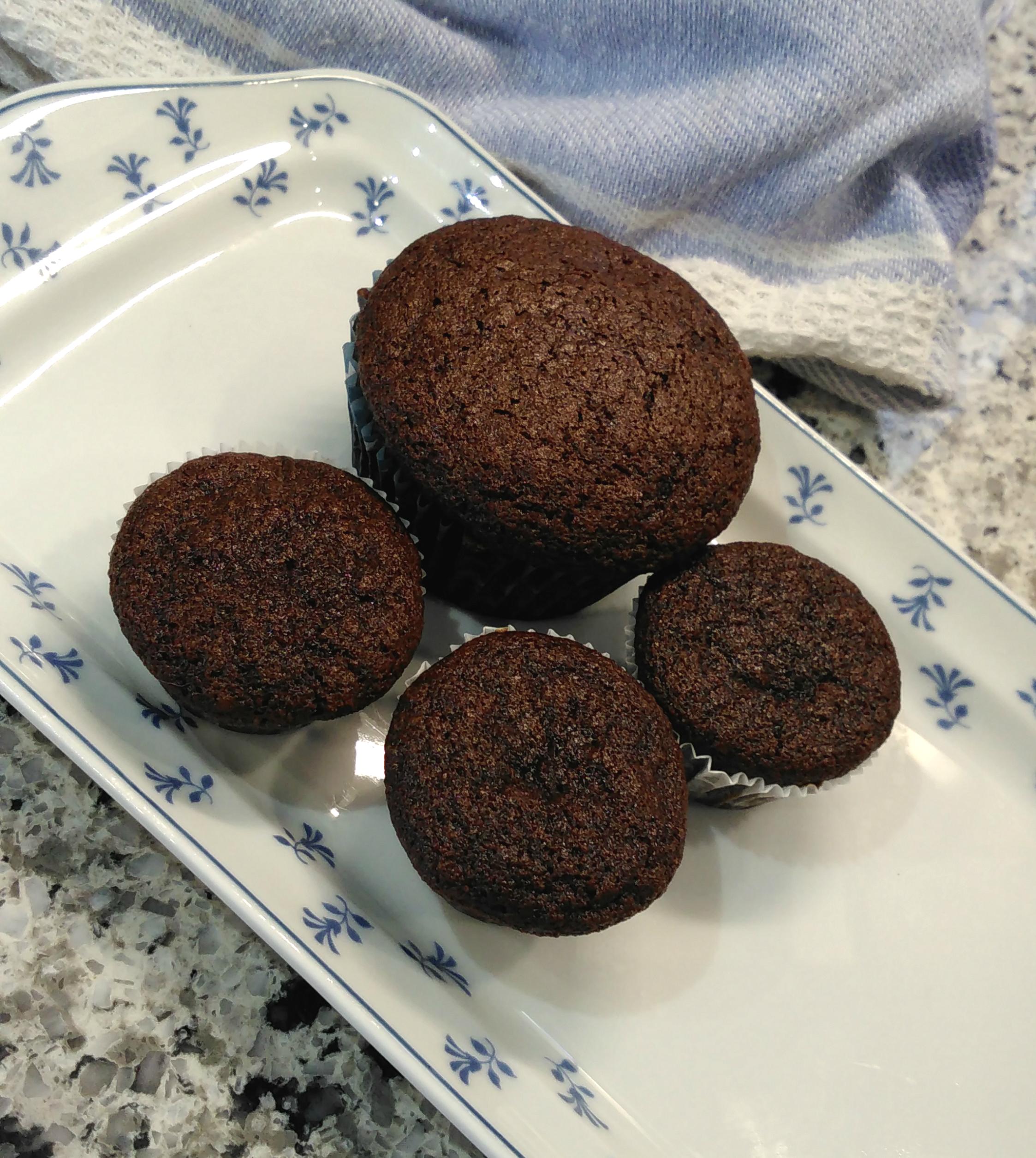 Chocolate Spelt Muffins
