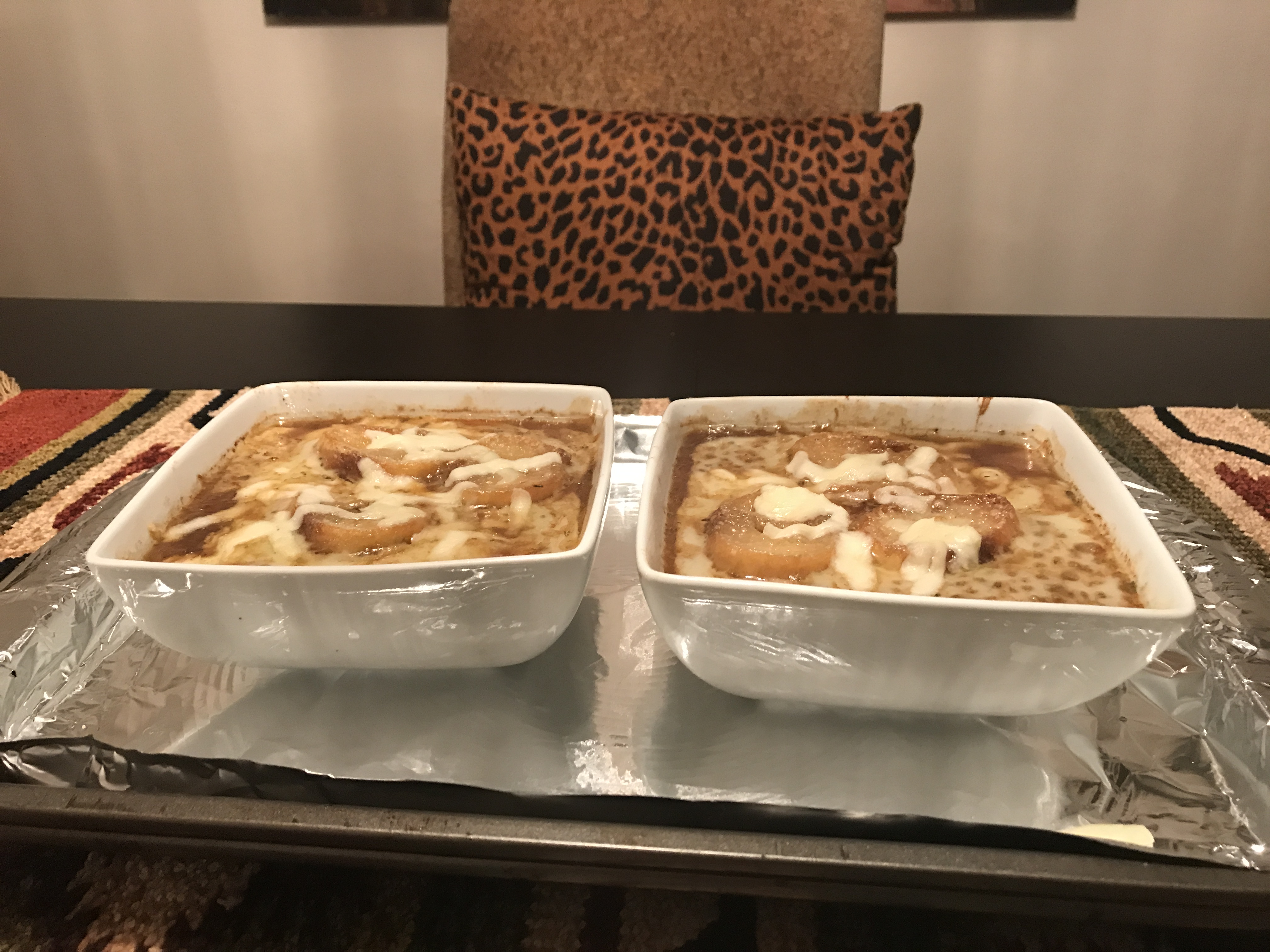 French Onion Soup with Port Wine