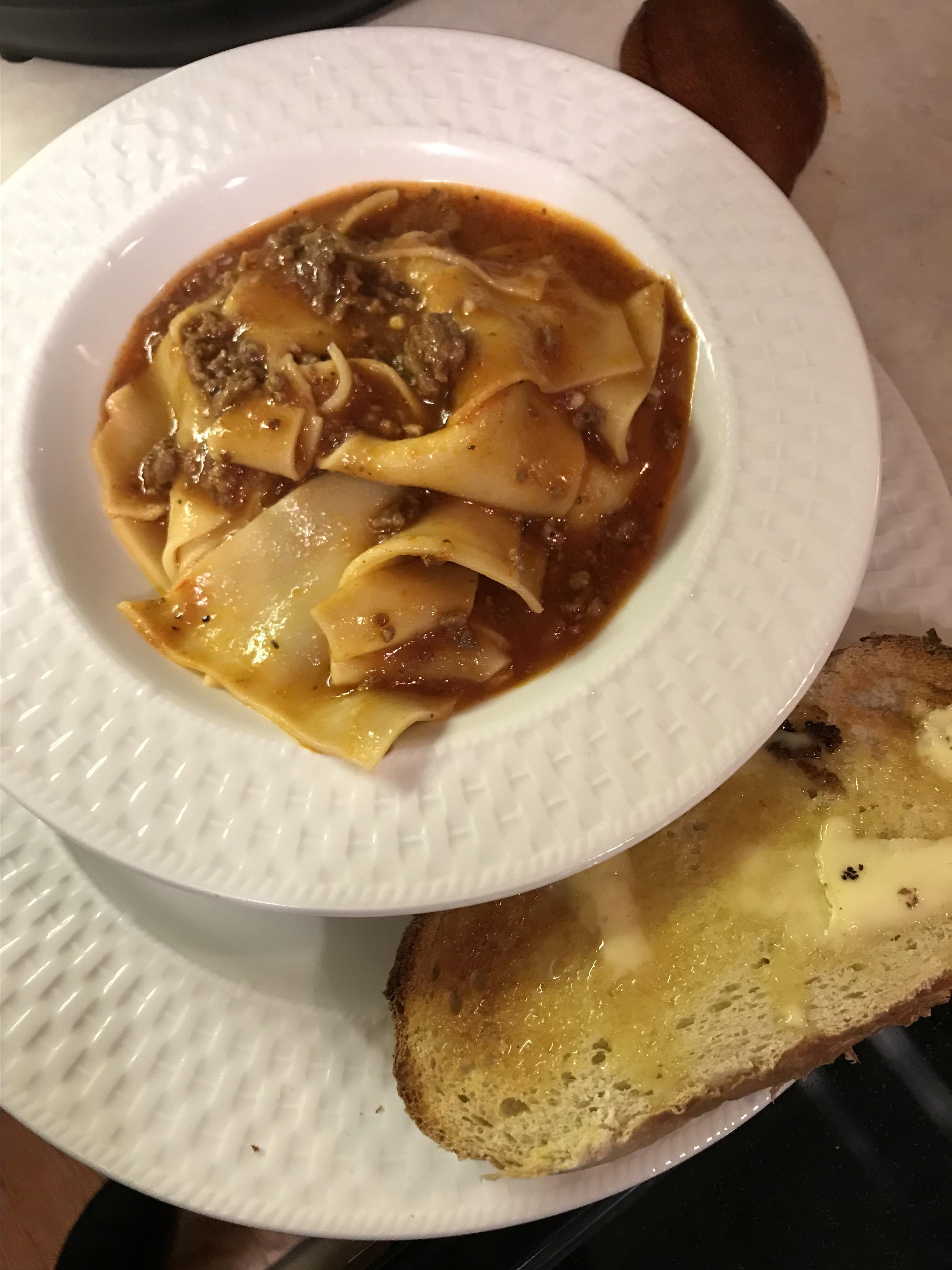 Instant Pot® Lasagna Soup