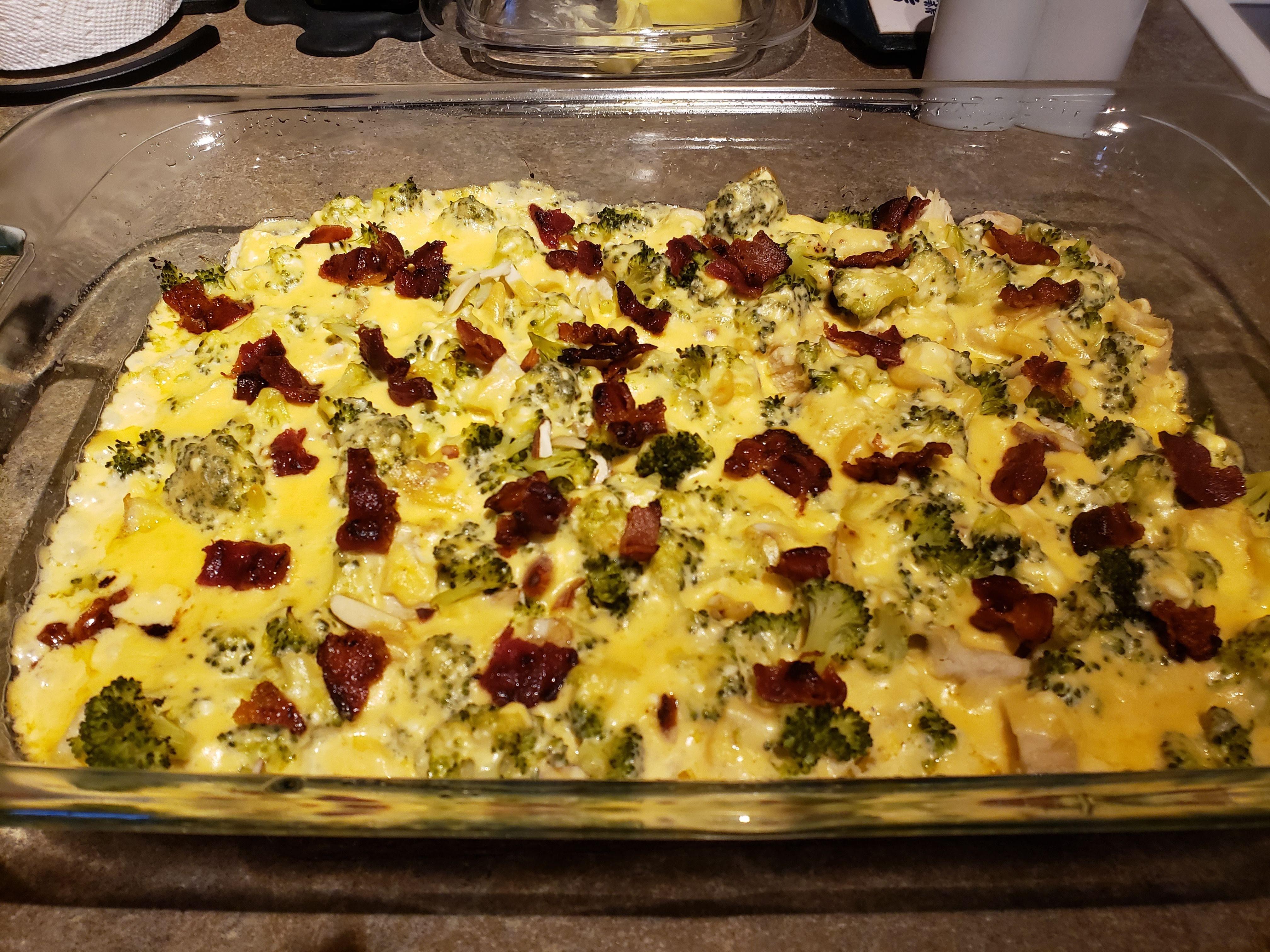 Keto Chicken and Broccoli Casserole Angela Acker