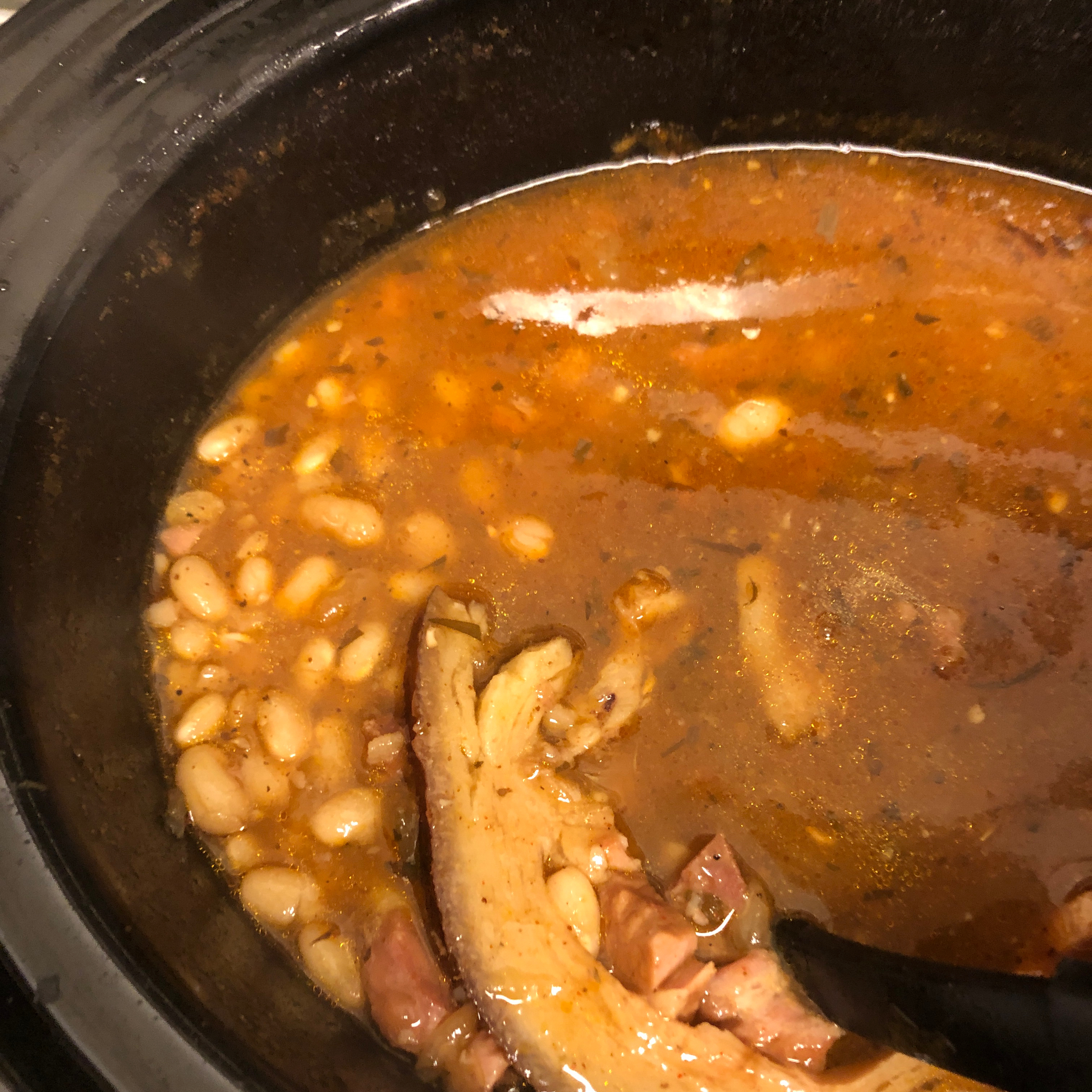 Ham and Beans Rich