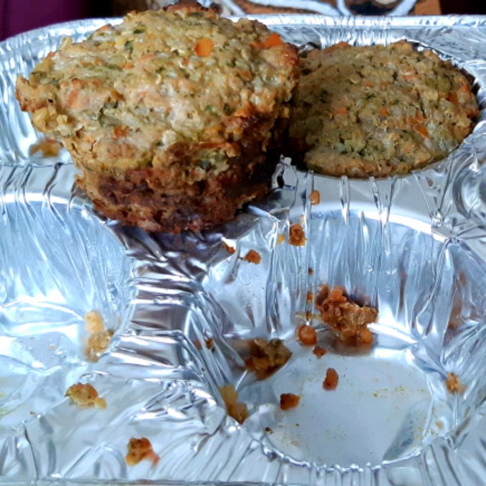 Veggie-Packed Meatloaf with Quinoa Miranda de Haan