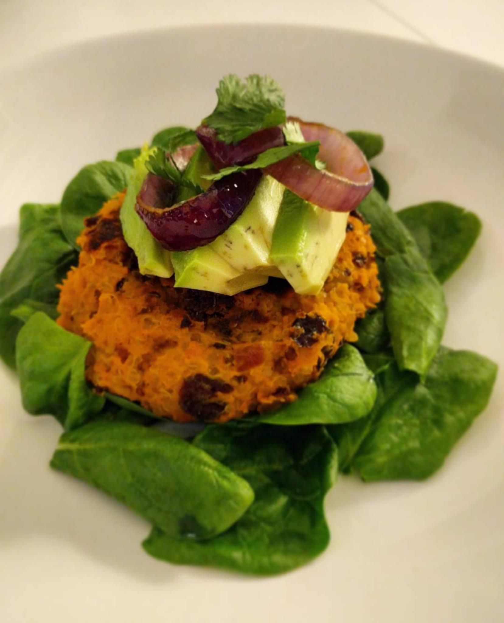 Easy Vegan Burger Patties