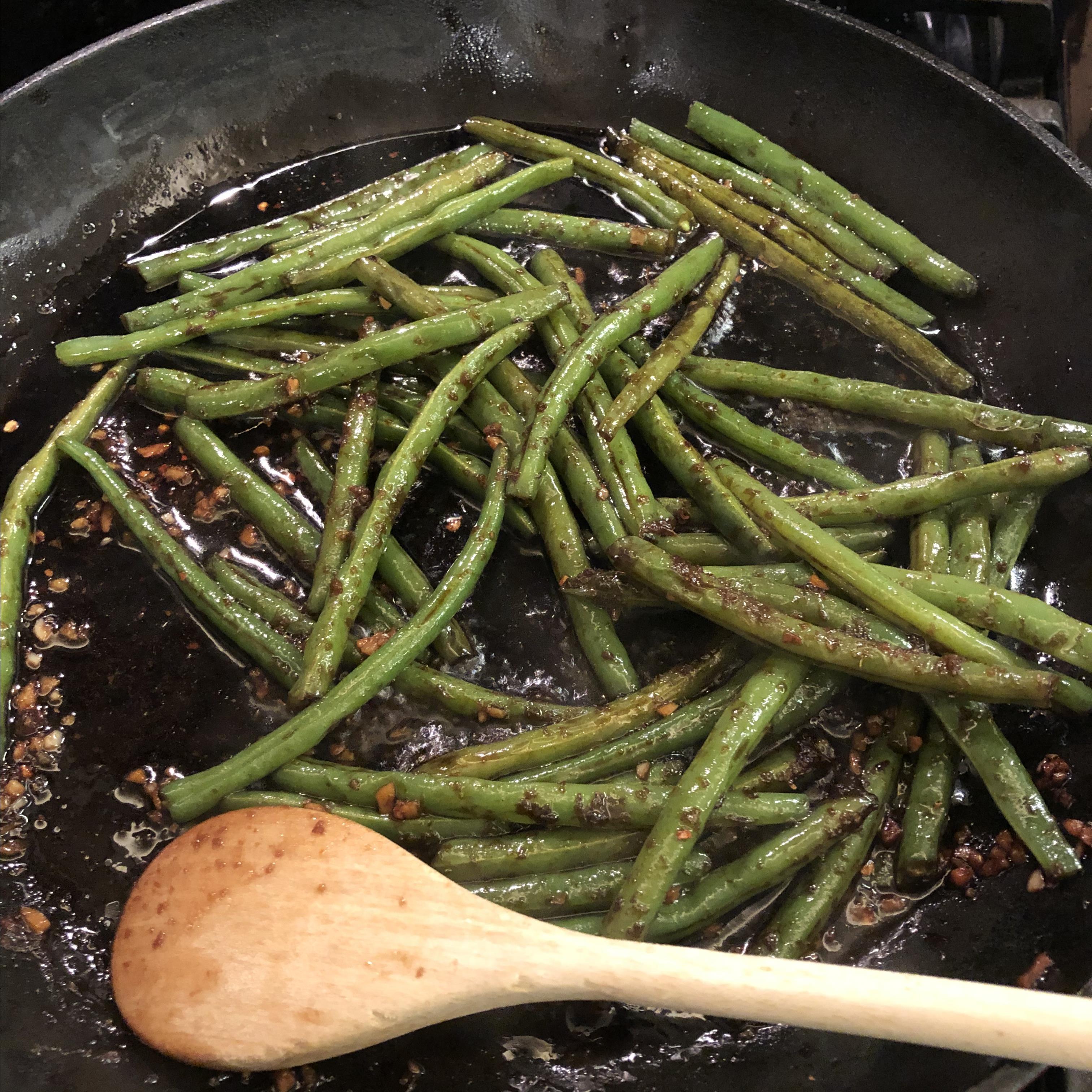 Spicy Szechuan Green Beans Dancing_Child
