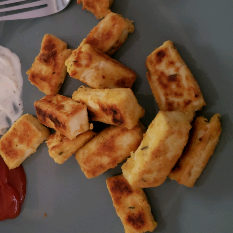 Breaded, Fried, Softly Spiced Tofu Ciara Miller