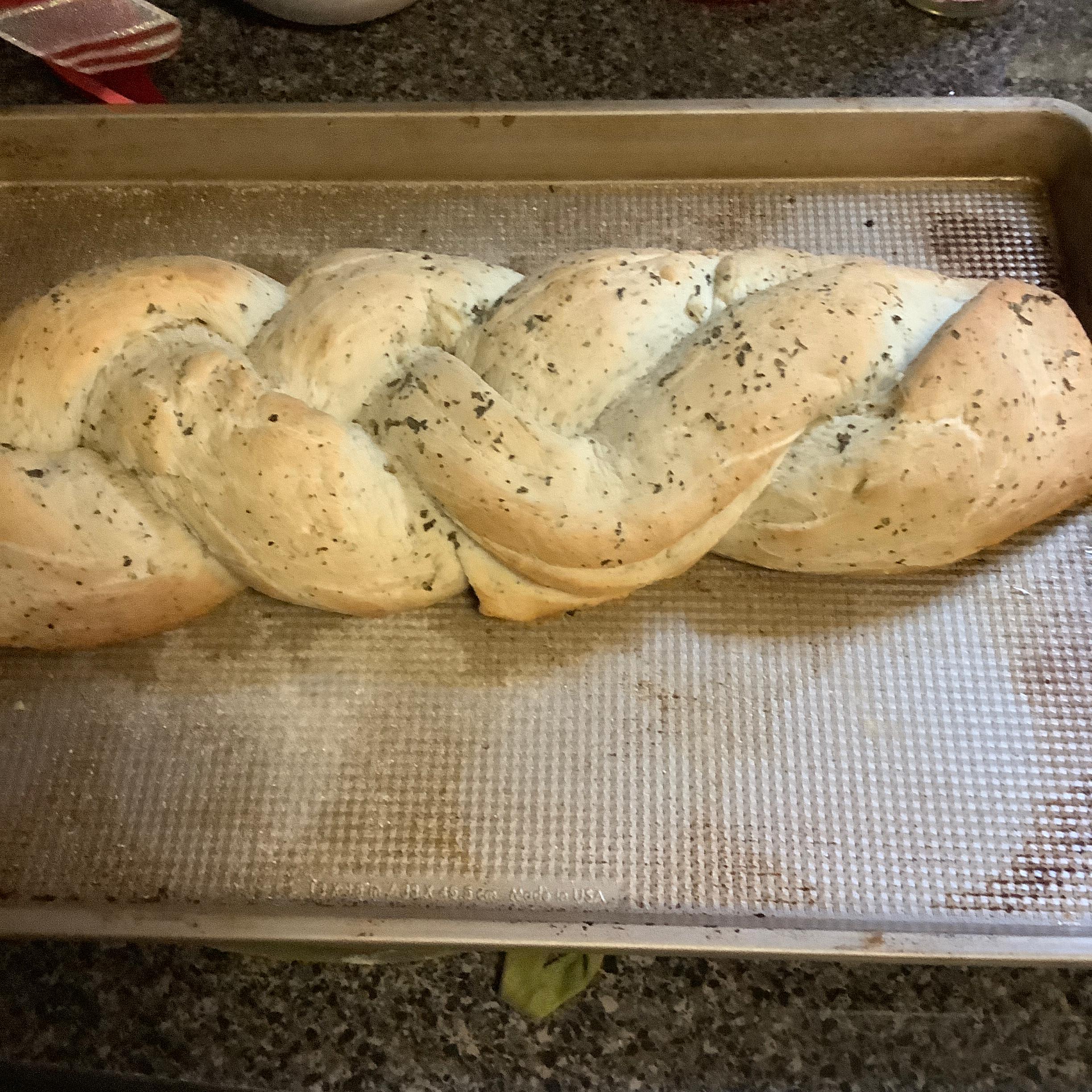 Braided Italian Herb Bread
