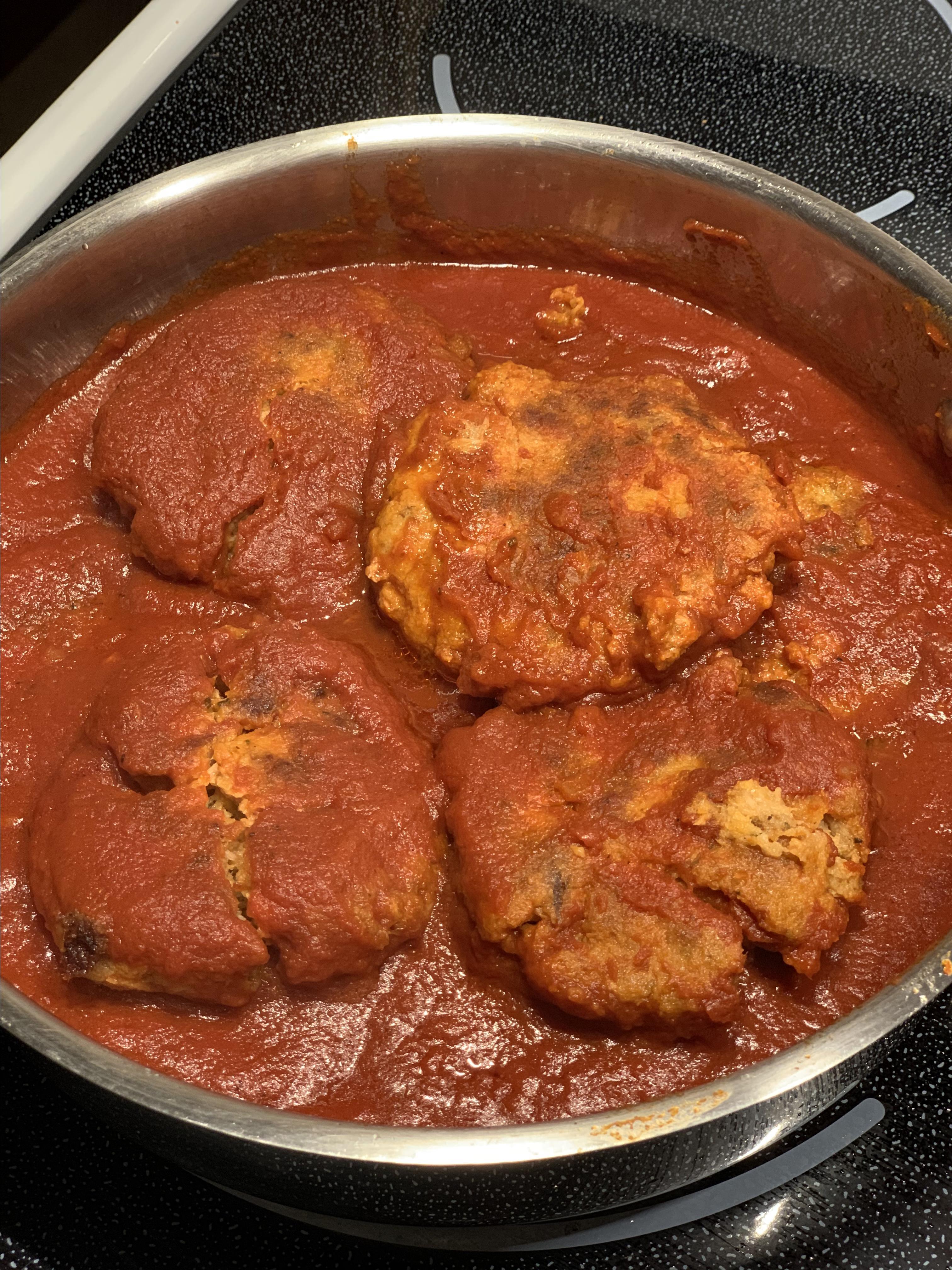 Bisnonna's Tuna Parmesan