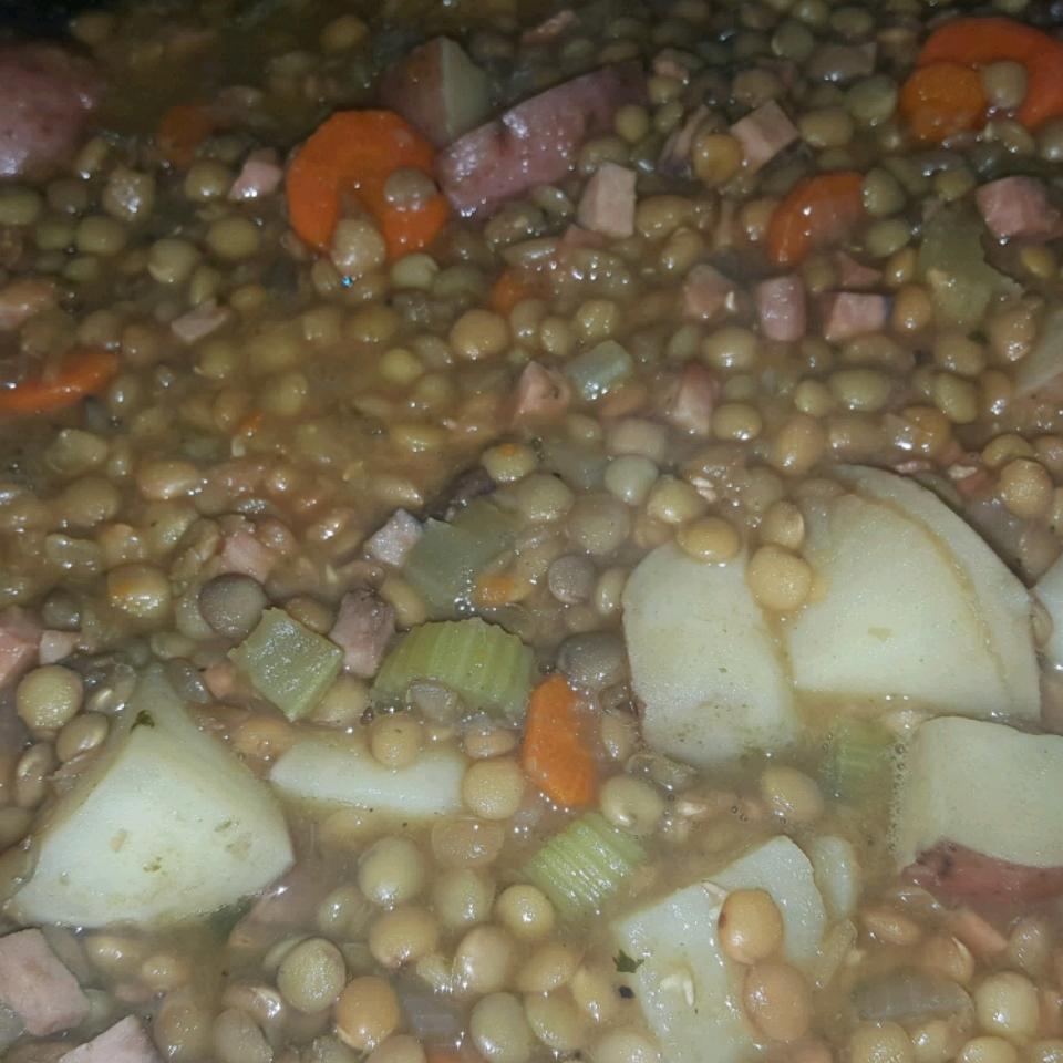 German Lentil Soup liquidartstattoos