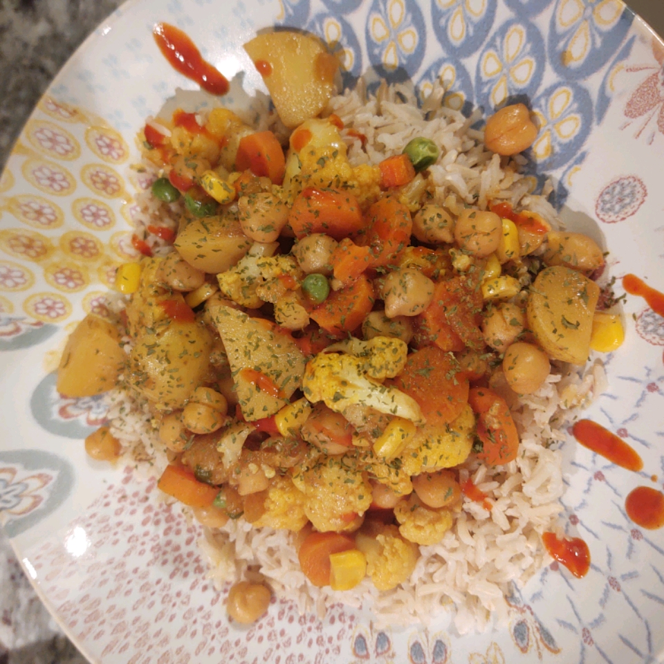 Crazy Creamy Chickpea Curry Chris Fabes