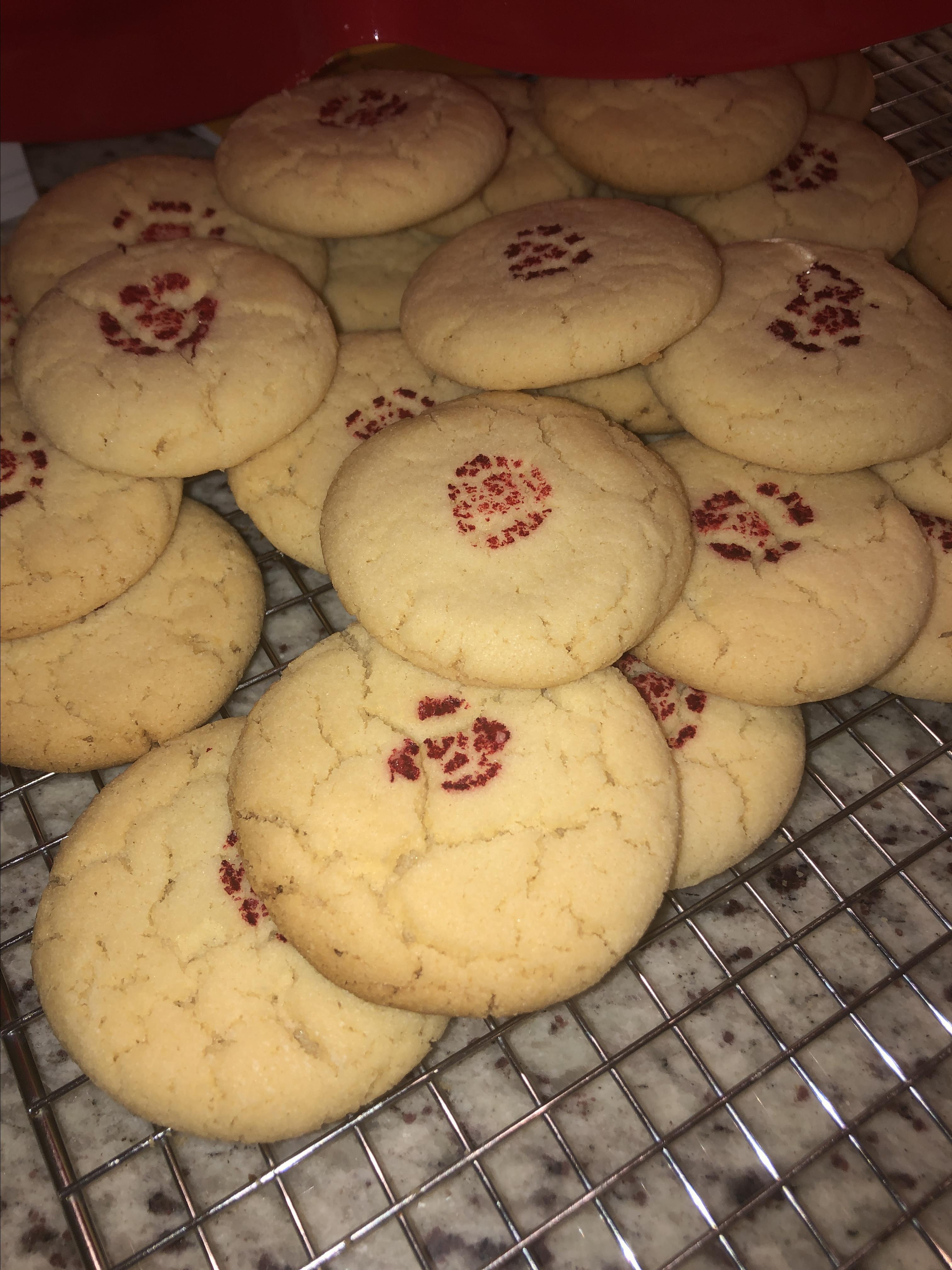 Almond Cookies (Dim Sum Variety)