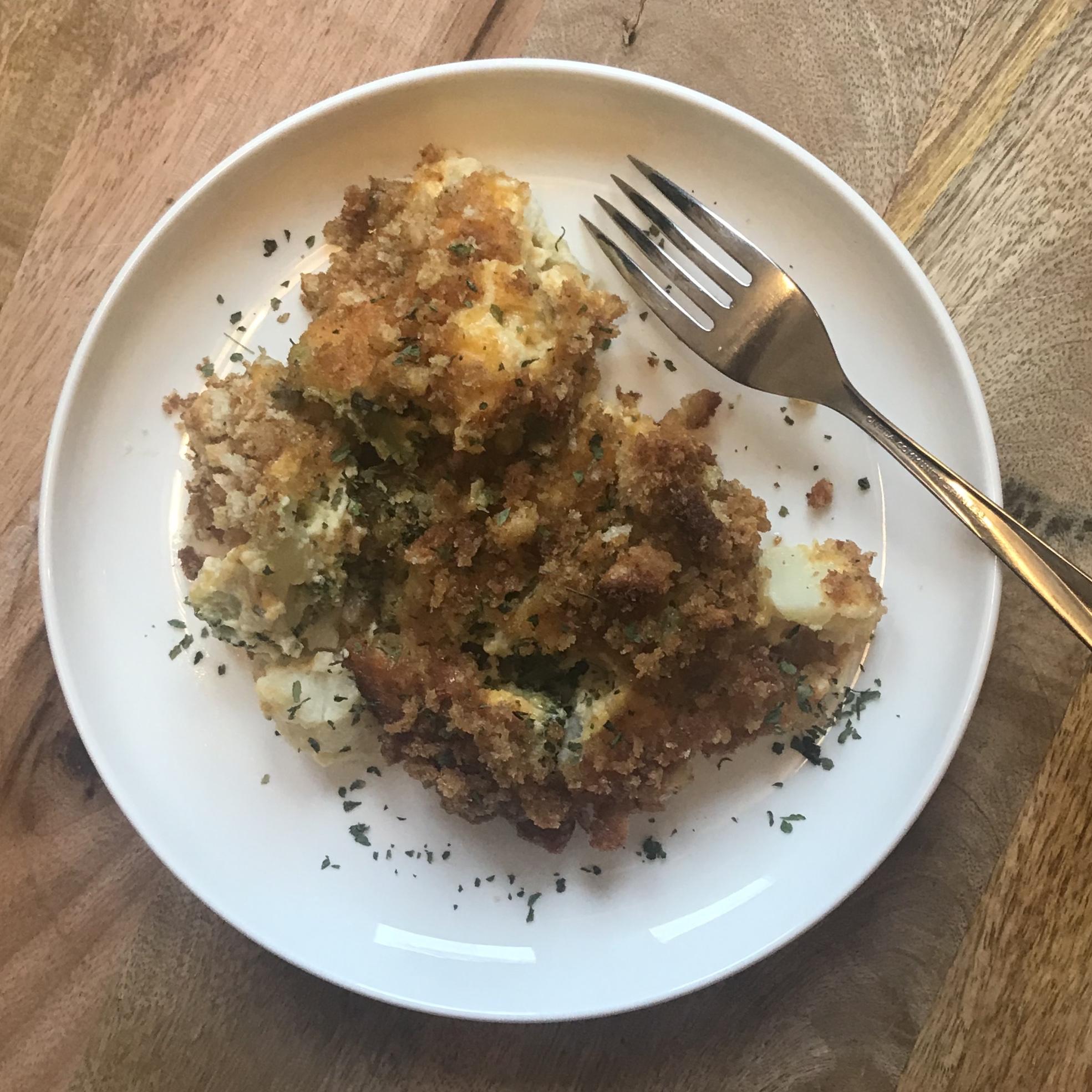Broccoli and Cauliflower Bake MommaBean3