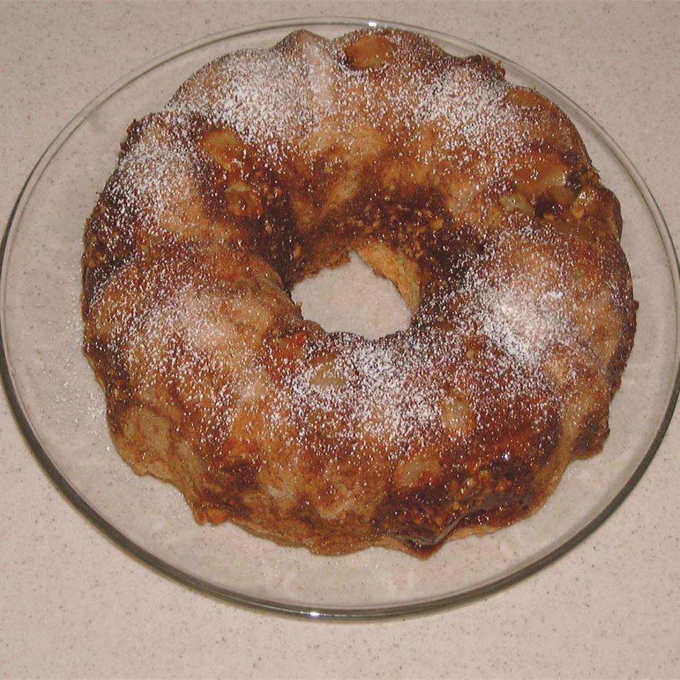 Sour Cream Pear Cake