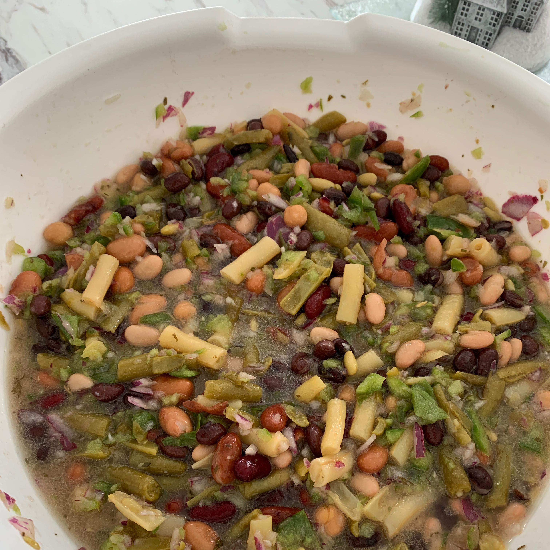 Three Bean Salad I Dorothy Blackley