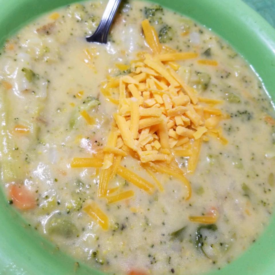 Best Cheesy Broccoli Soup Janice Burns