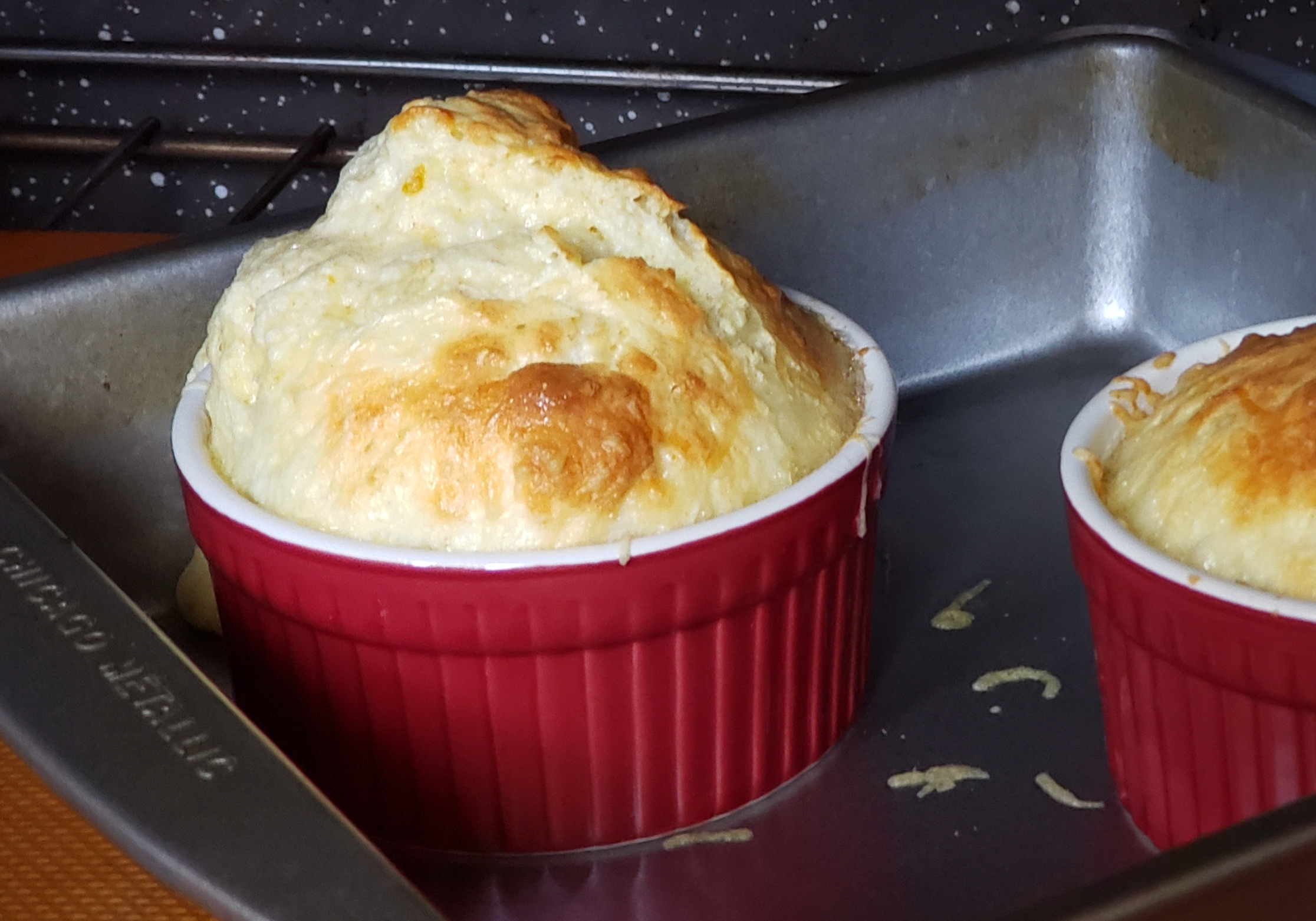 Easy Cheese Souffles Cici