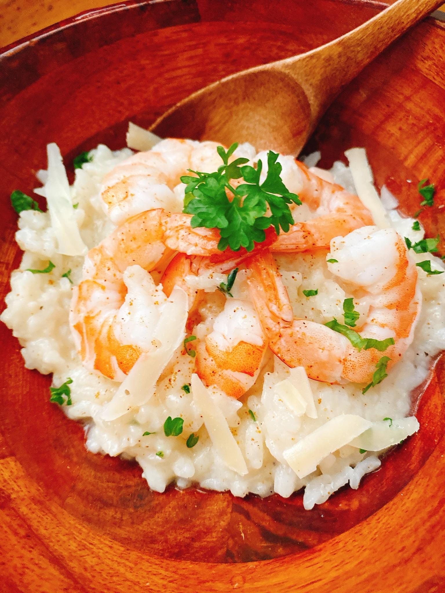Instant Pot® Cajun Shrimp Risotto