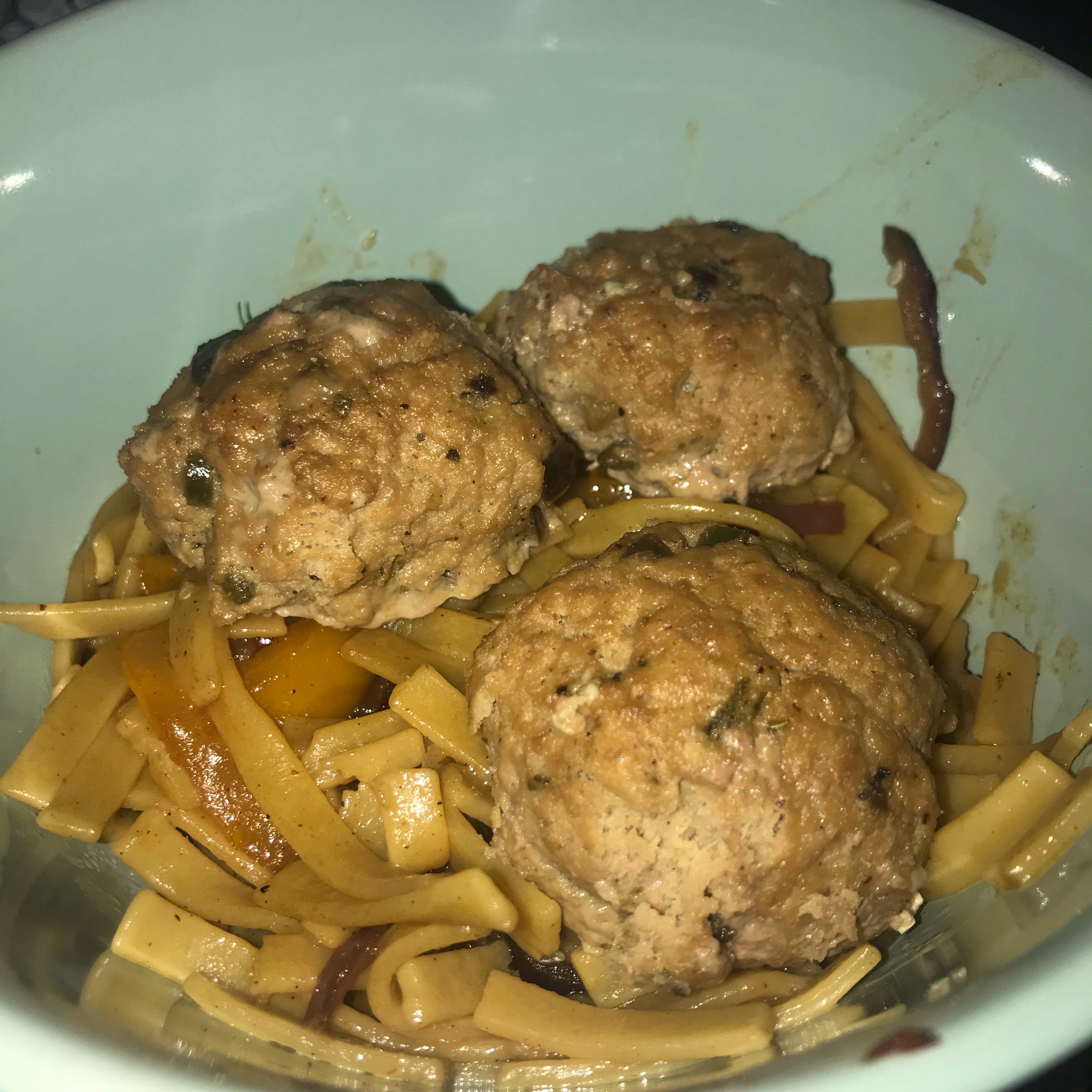 Tantalizing Turkey and Blue Cheese Meatballs
