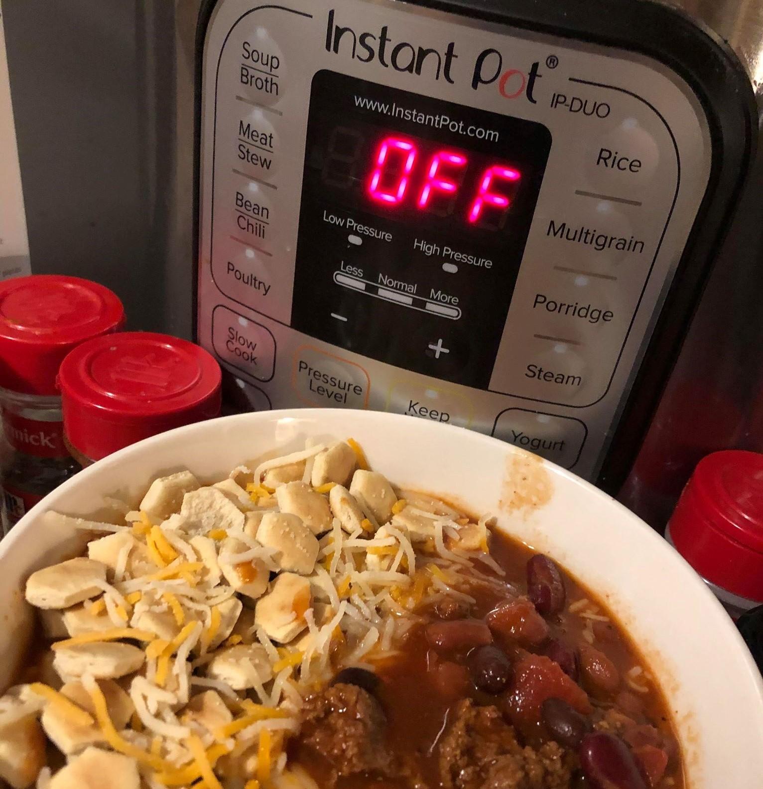 Instant Pot® Venison and Bean Chili Valerie Martin