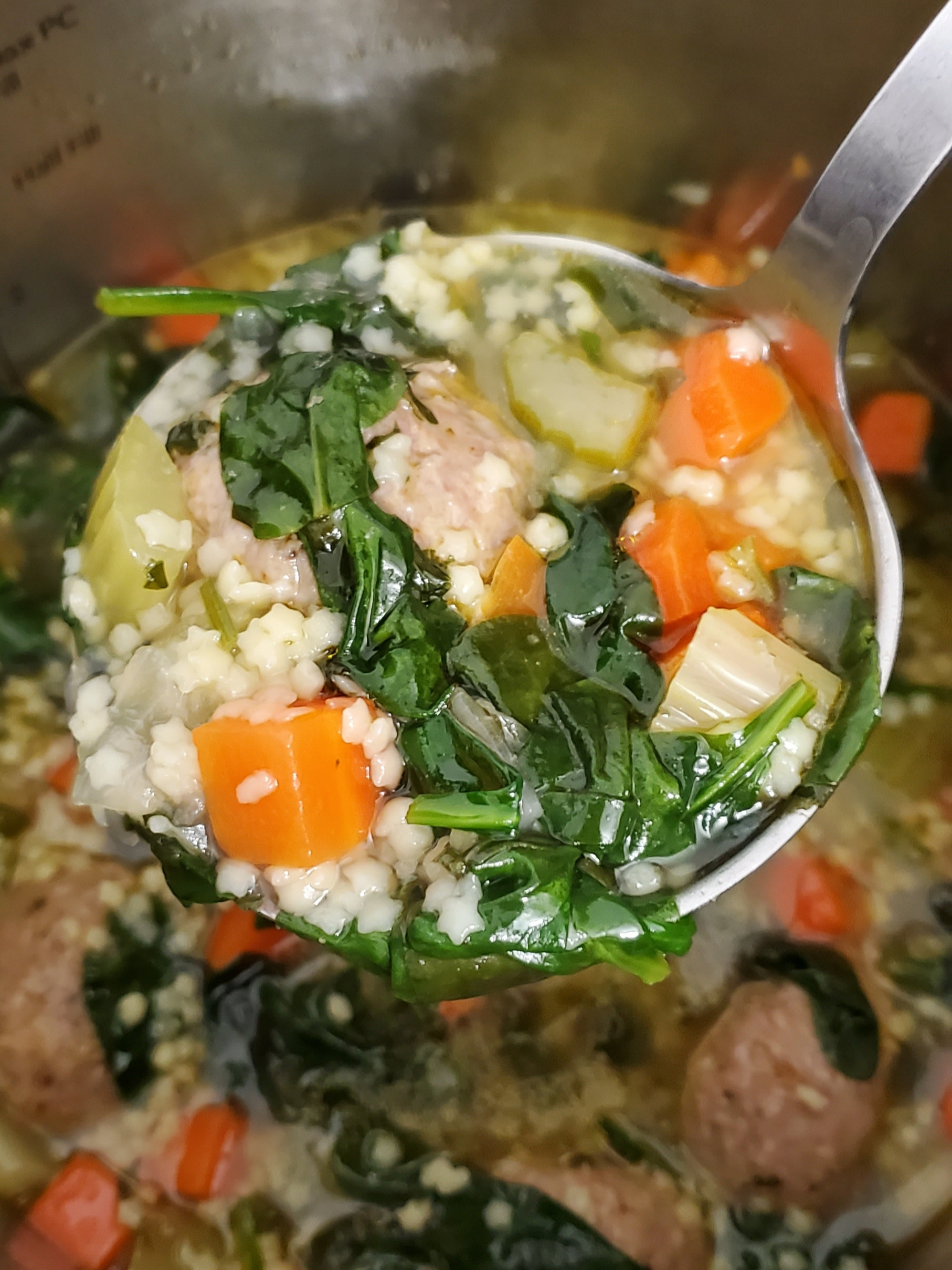 Instant Pot® Italian Wedding Soup Alice Lai