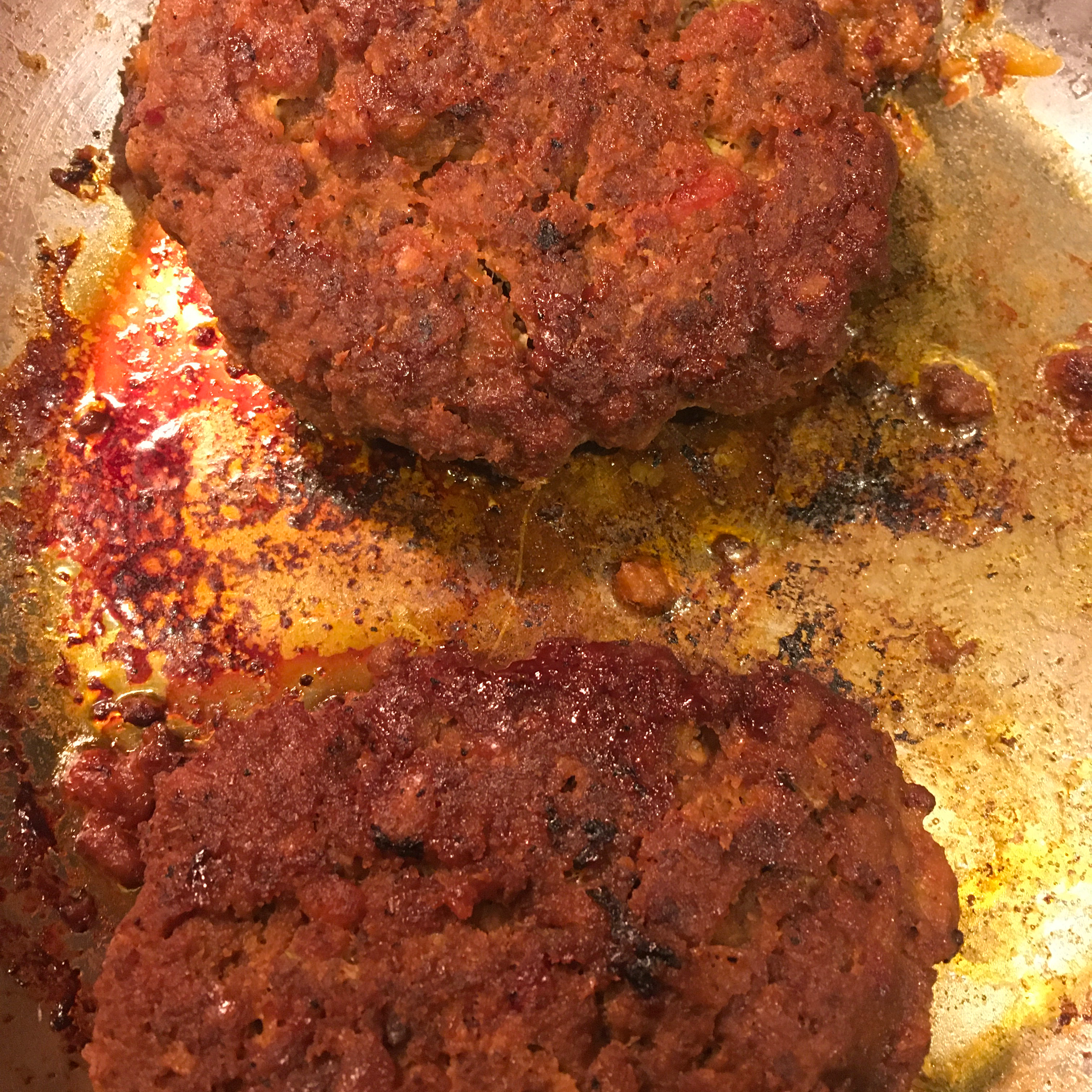 Chef John's Grilled Bacon Meatloaf Burgers