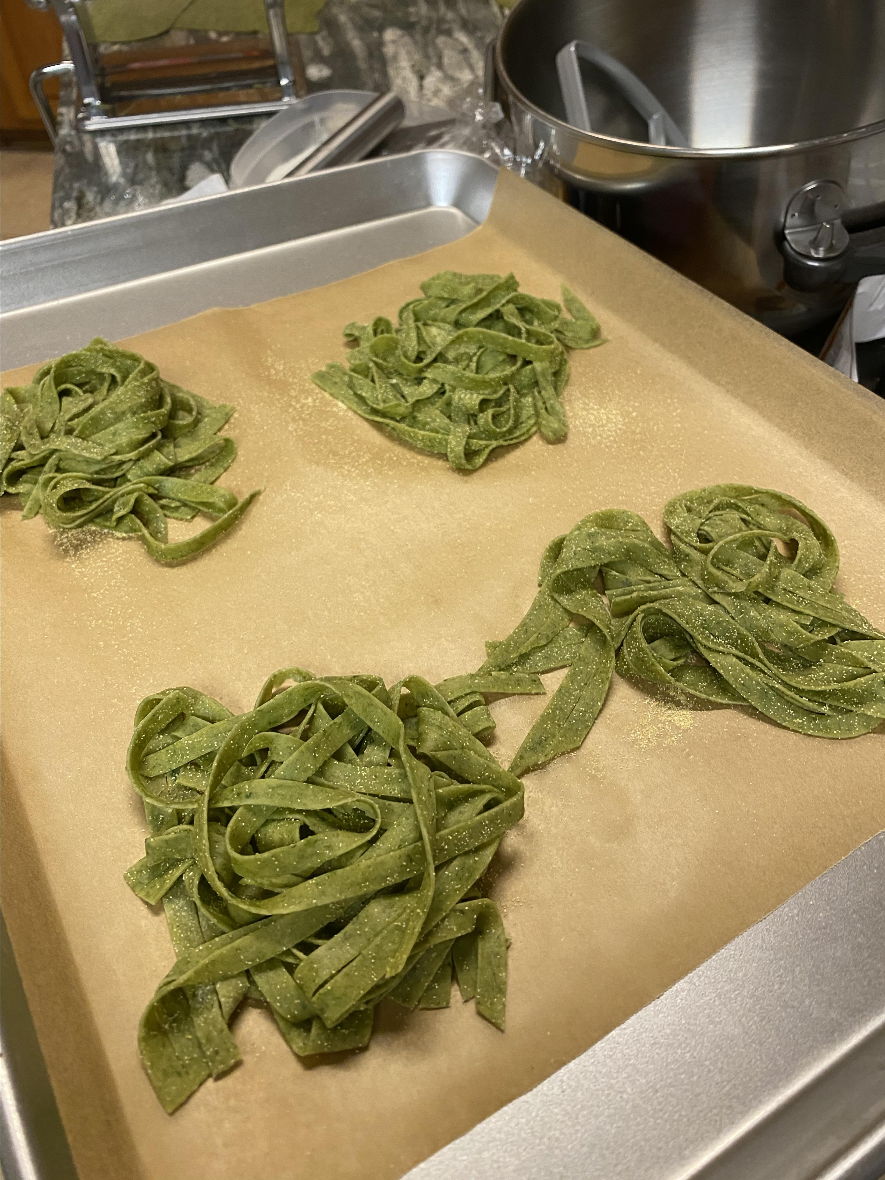 Fresh Spinach Pasta Billy Ray Albritton Jr