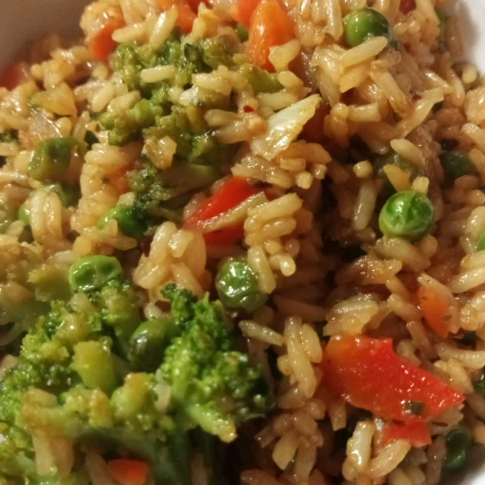 Delicious Vegan Fried Rice TJ Thadj