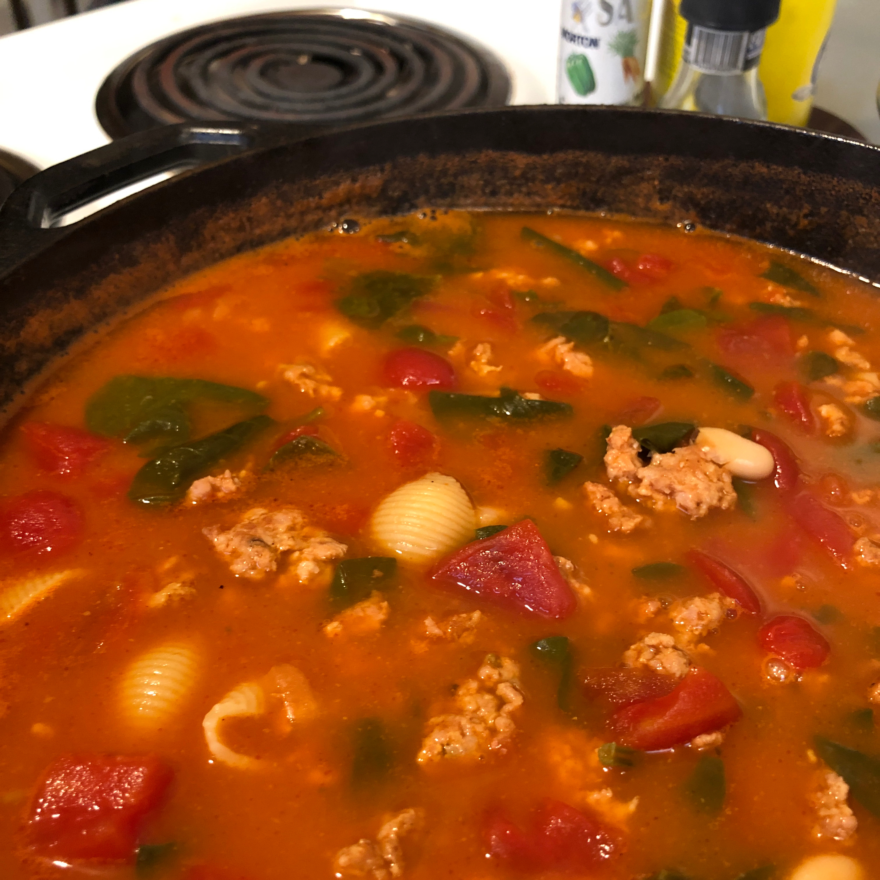 Pasta Fagioli Soup II Amy Powell