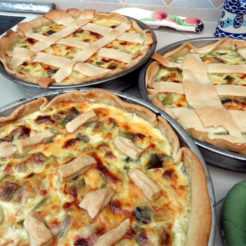French Leek Pie