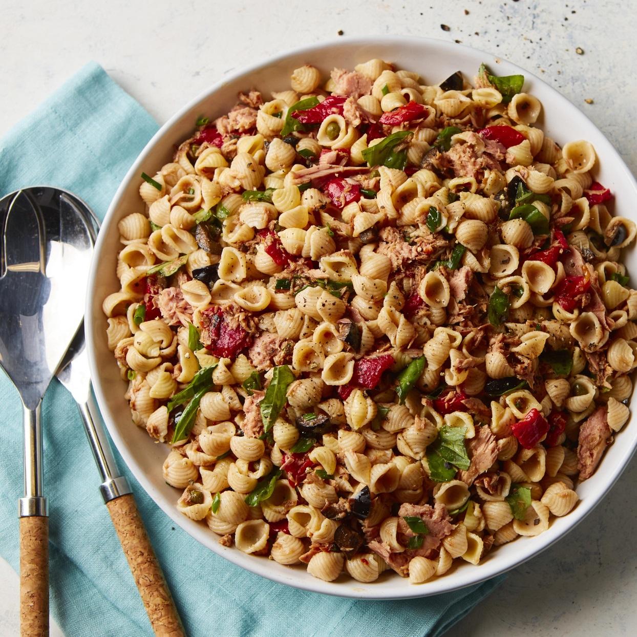 Pasta Salad Nicoise Allrecipes Trusted Brands