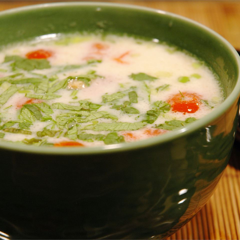 Tom Ka Gai (Coconut Chicken Soup) MARBALET