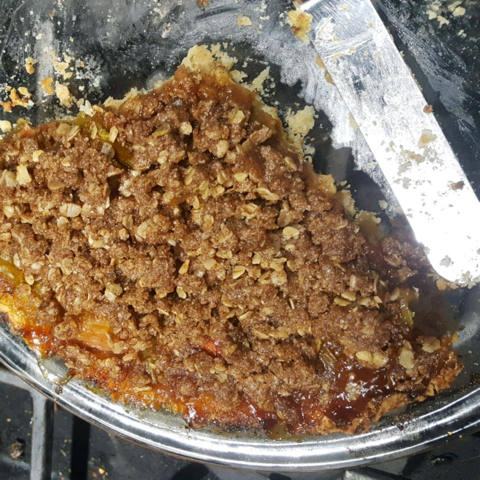 Rhubarb Surprise Pie Colleen Seal