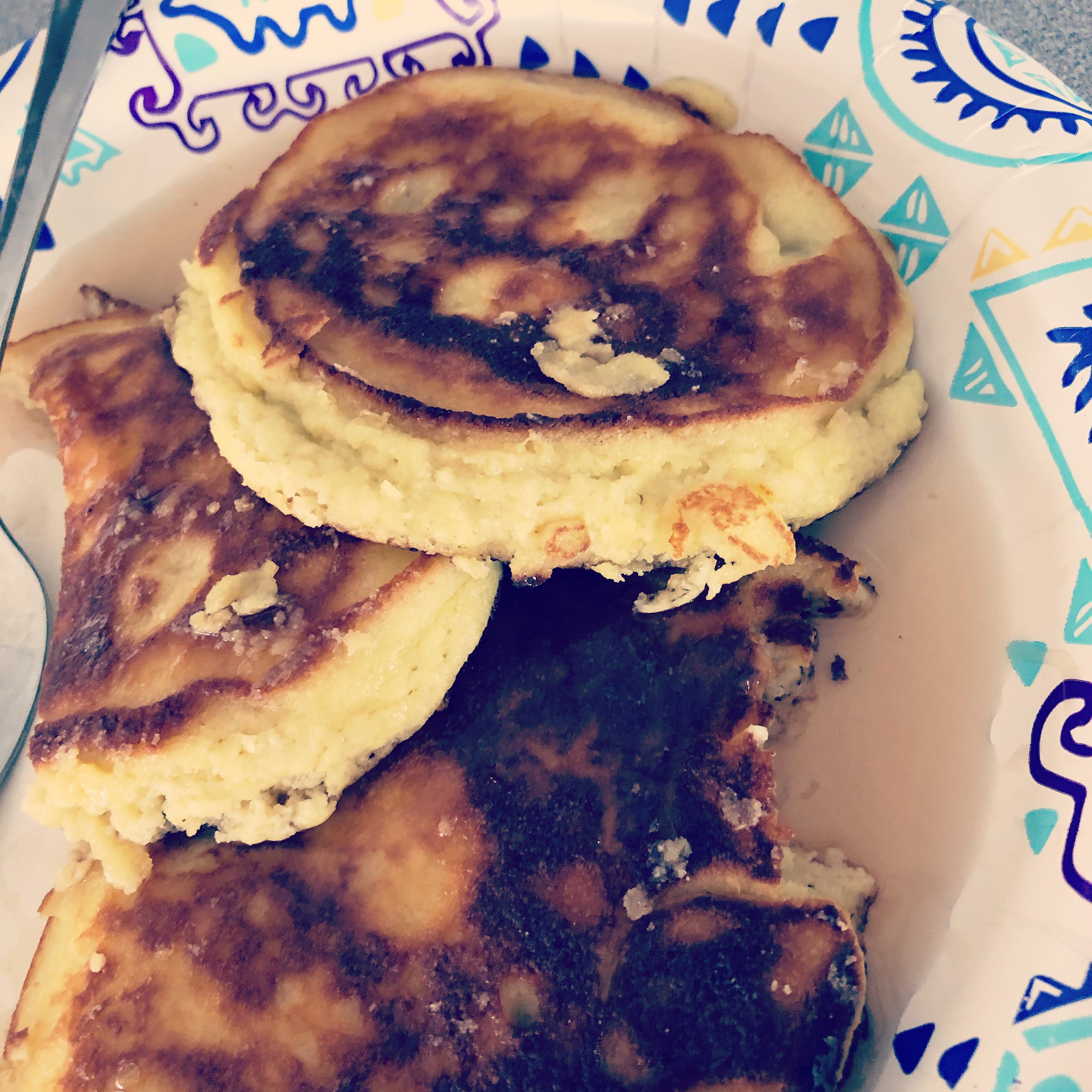 Low-Carb, Sugar-Free Coconut Flour Pancakes Demetria Kaye Meyer