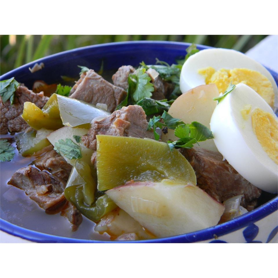 Ajiaco (Beef and Pepper Stew) damasio
