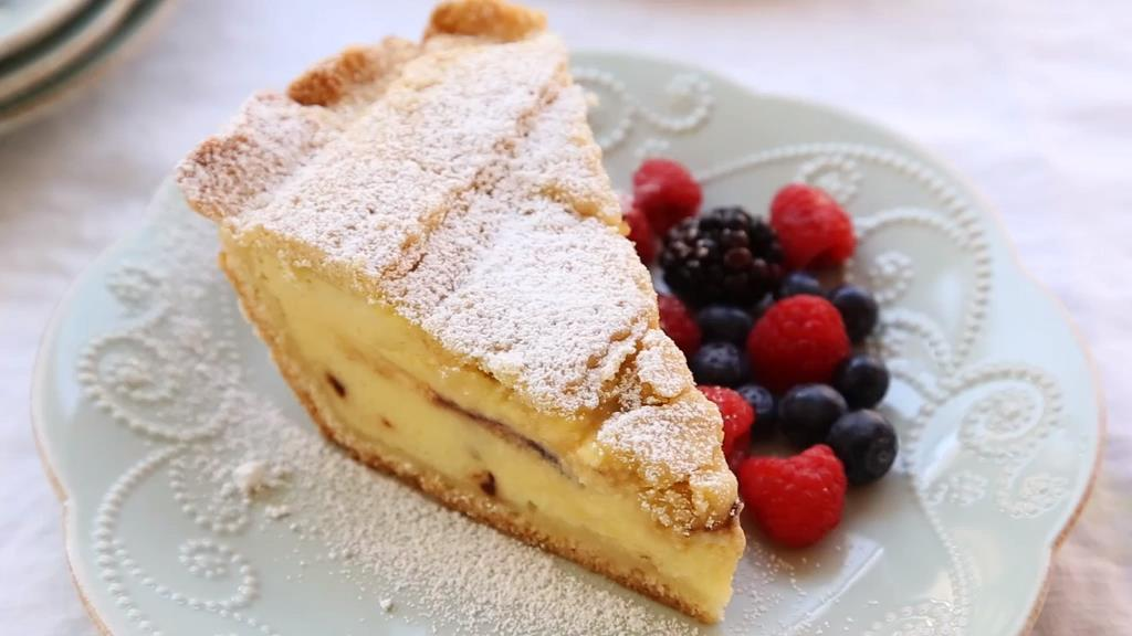 Ricotta Pie (Old Italian Recipe)