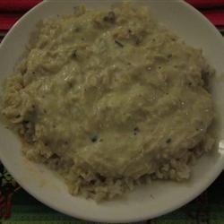 Slow Cooker Chicken Stroganoff bianchiveloce