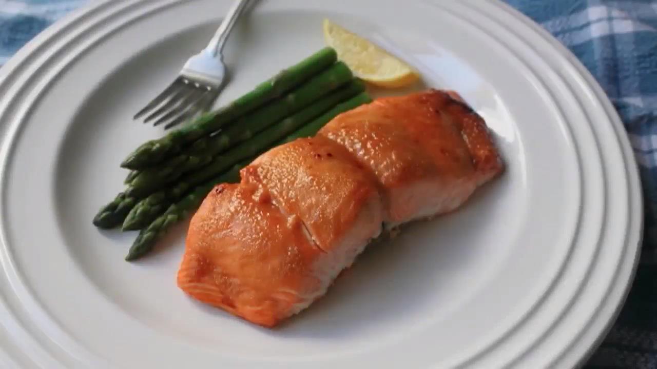 Miso Maple-Glazed Salmon Trusted Brands