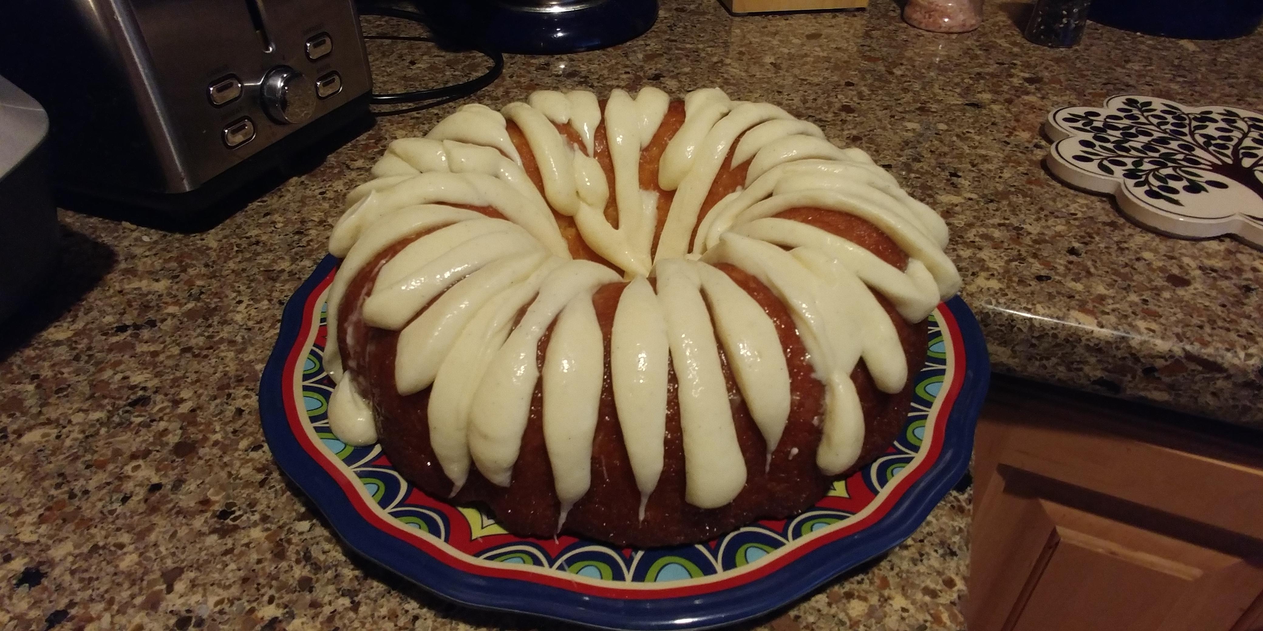 Tangerine Orange Cake R&R