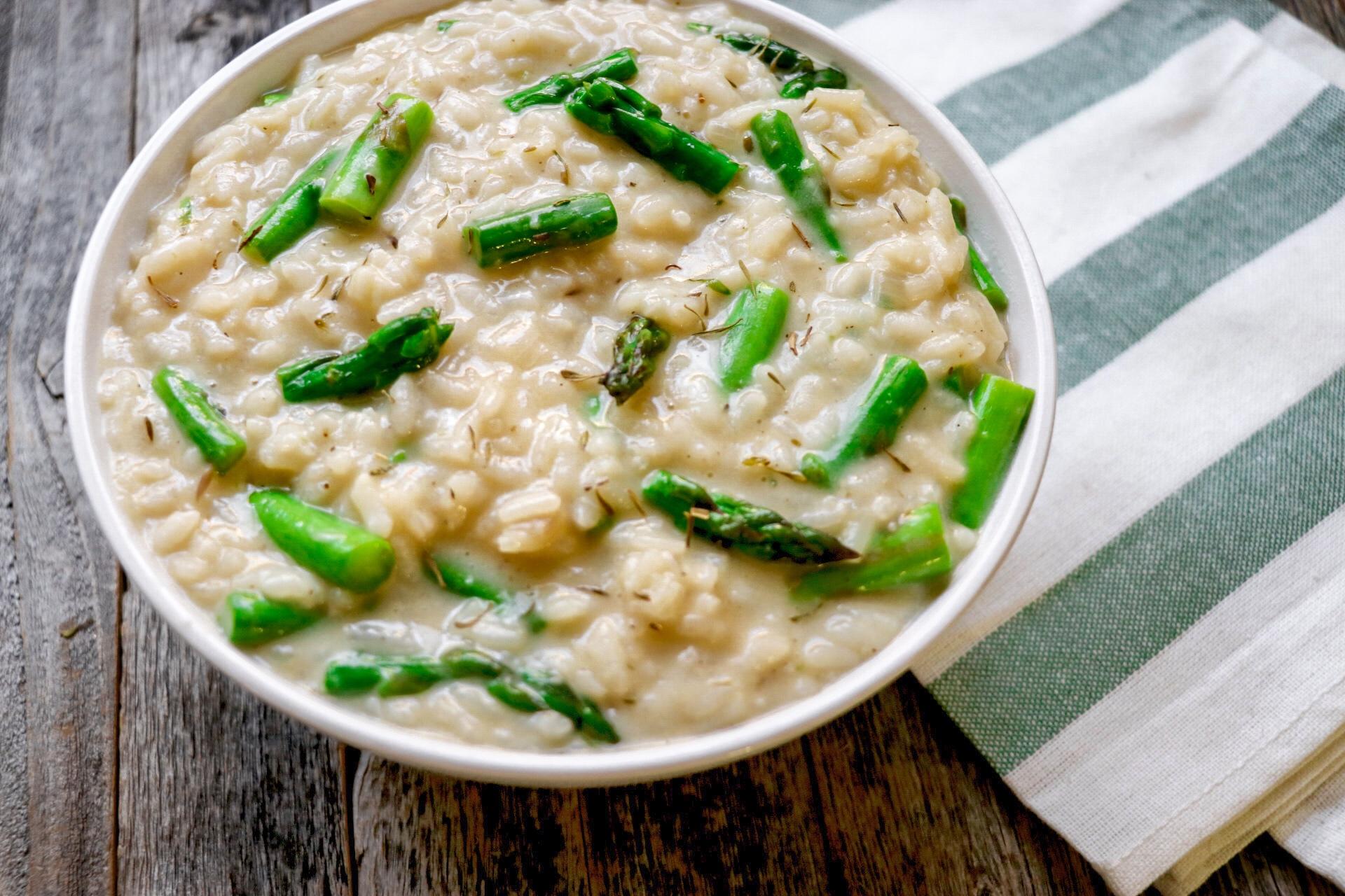 Instant Pot® Asparagus Risotto
