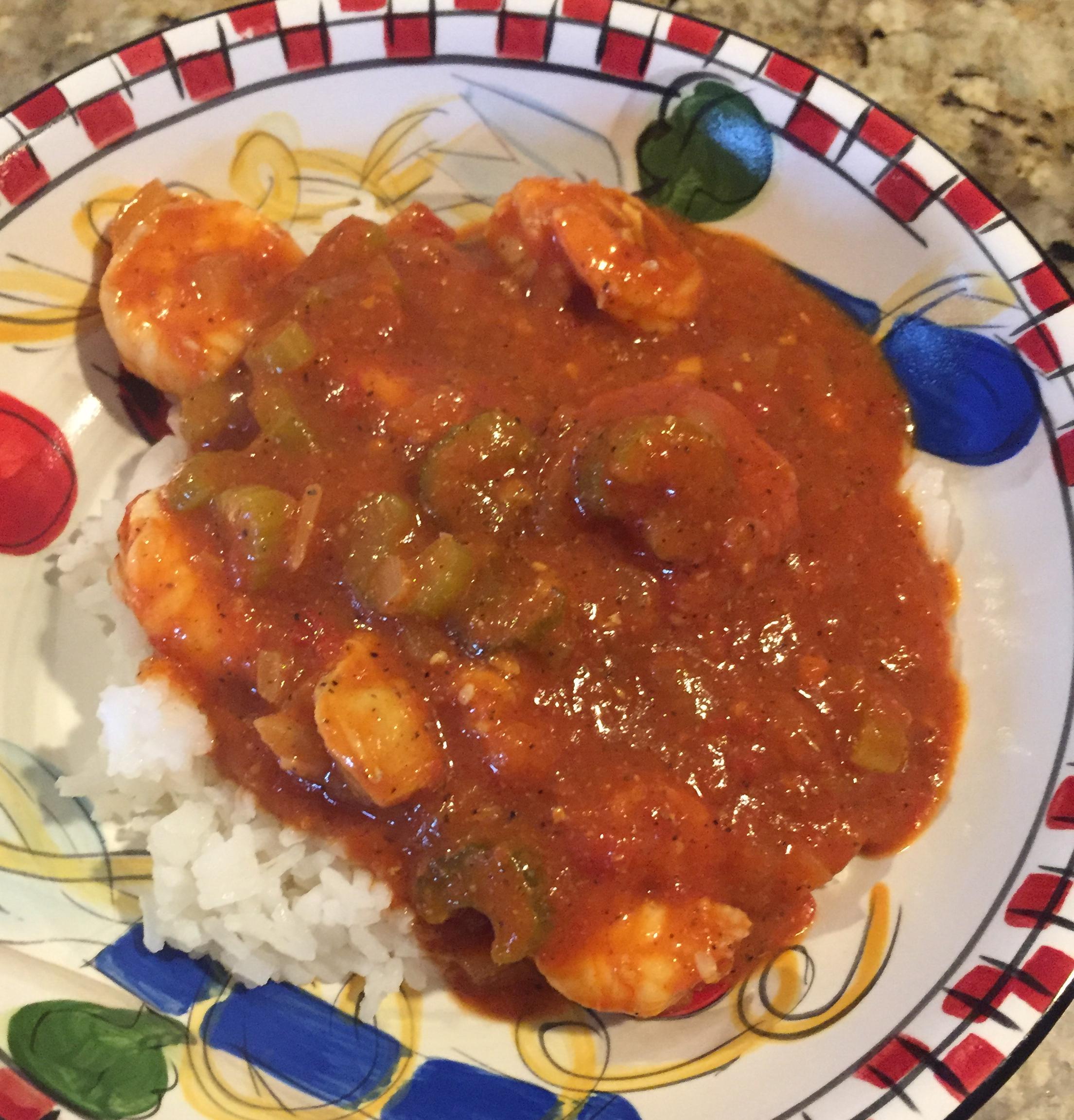 Spicy Shrimp Creole Donna Gluecklich-Sullivan