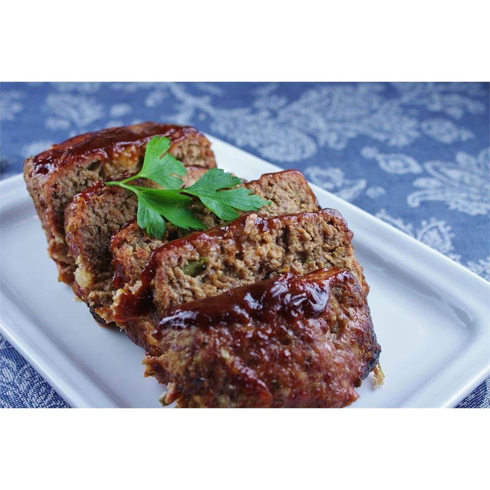 Grilled BBQ Meatloaf Spunky Buddy