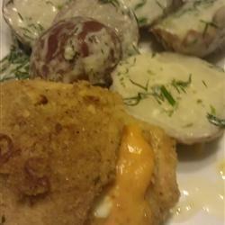 Garlic-Lemon Double Stuffed Chicken Liz