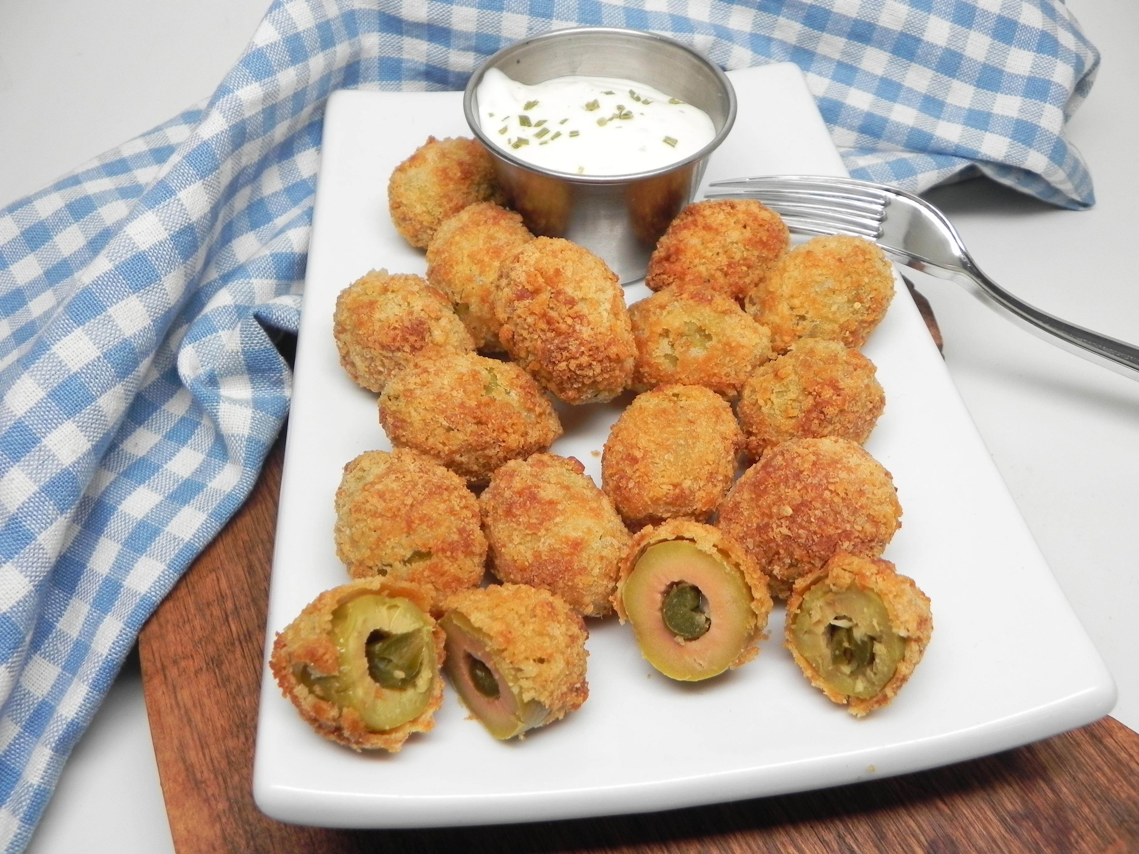 Air-Fried Olives