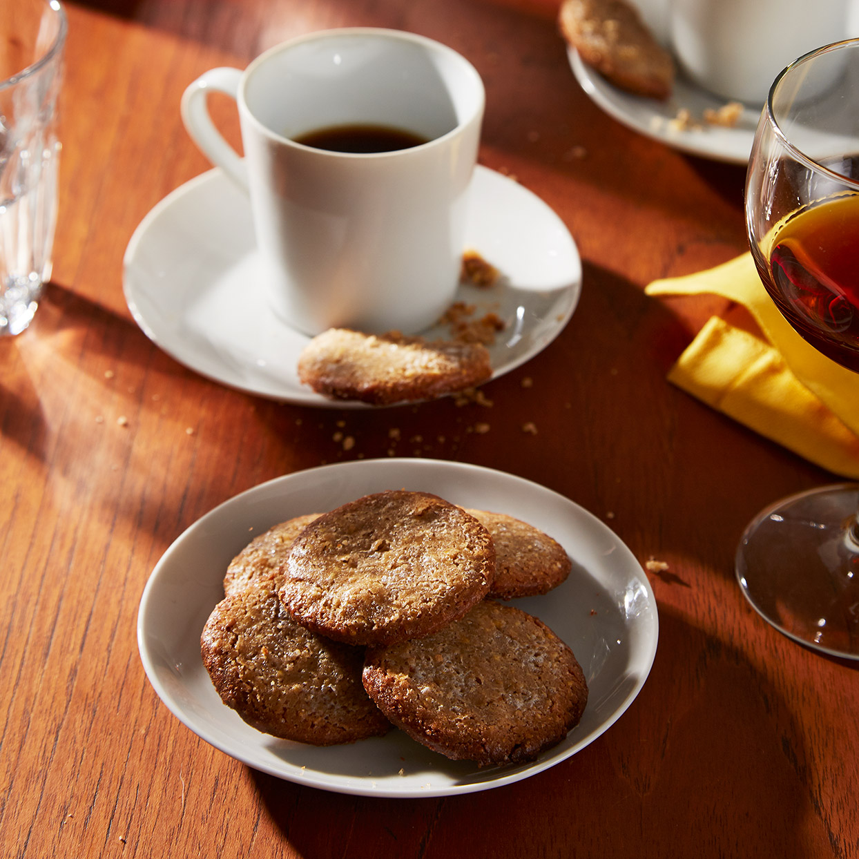 The intense blend of spices in these cookies is a tip of the hat to Venice's history as a conduit for the spice trade between Europe and the Far East. Source: EatingWell Magazine, March 2020