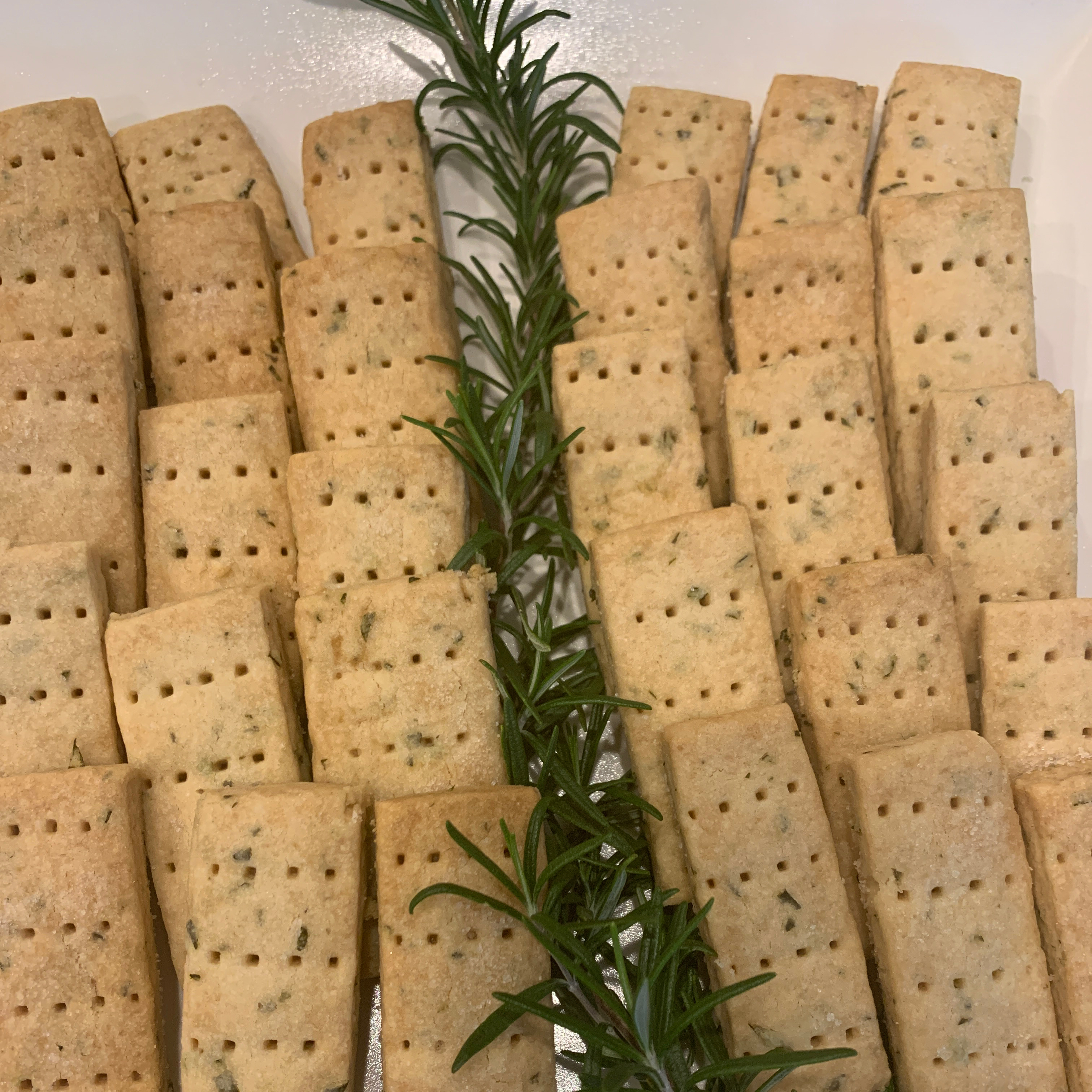 Chef John's Rosemary Shortbread Cookies
