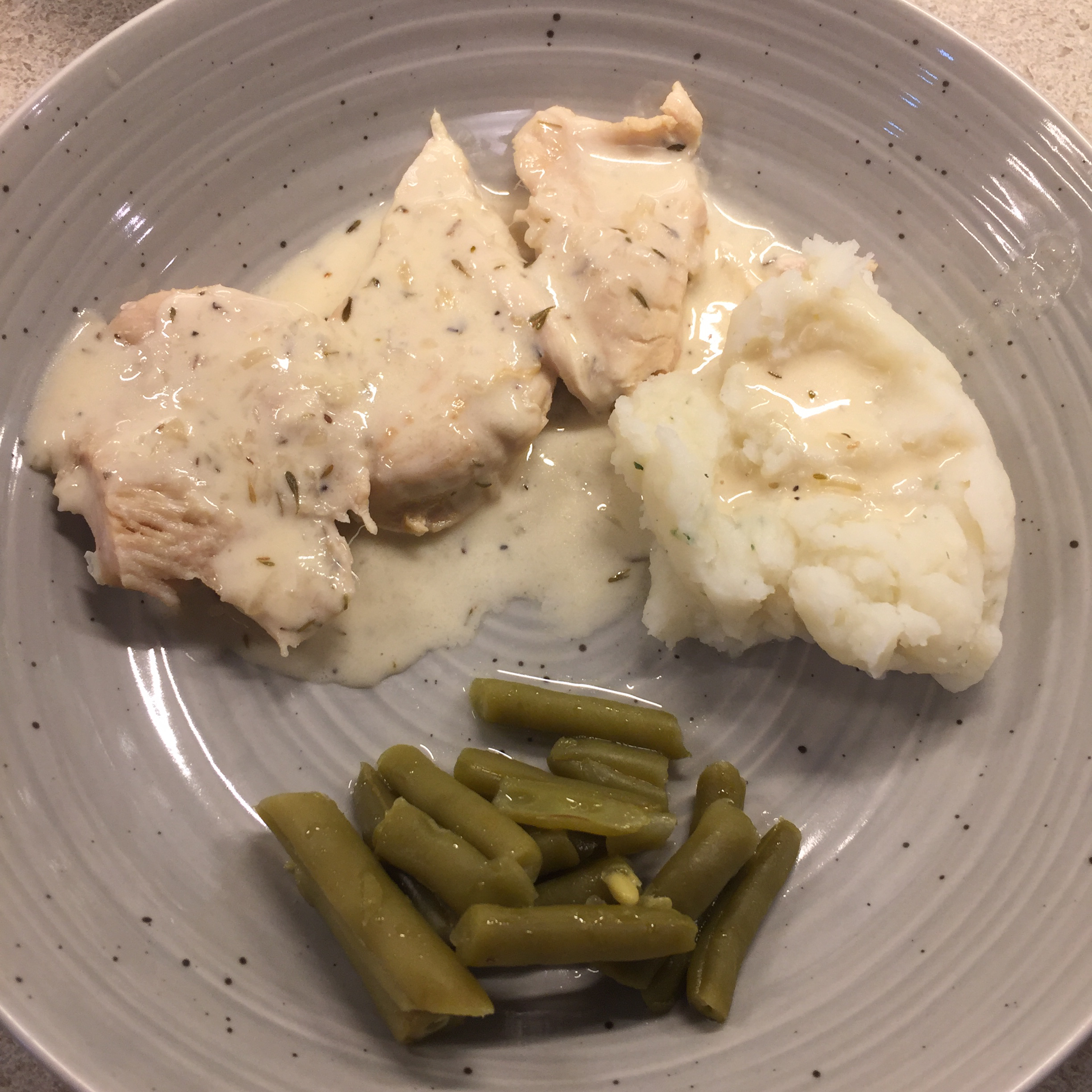 Instant Pot® Keto Chicken Thighs in Lemon-Garlic Cream Sauce Adrian Paige